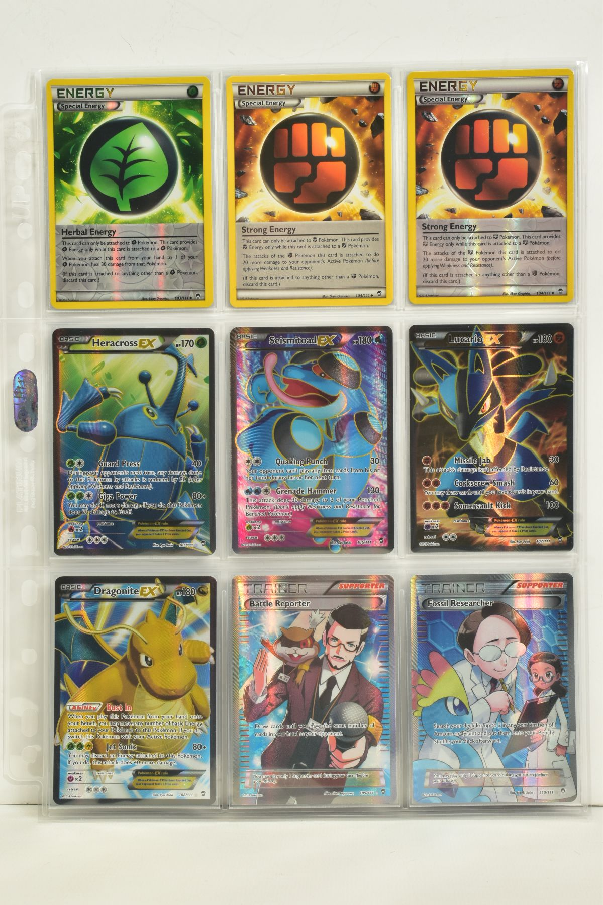 A COLLECTION OF ASSORTED POKEMON CARDS, to include complete master sets of XY Phantom Forces, XY - Image 99 of 101