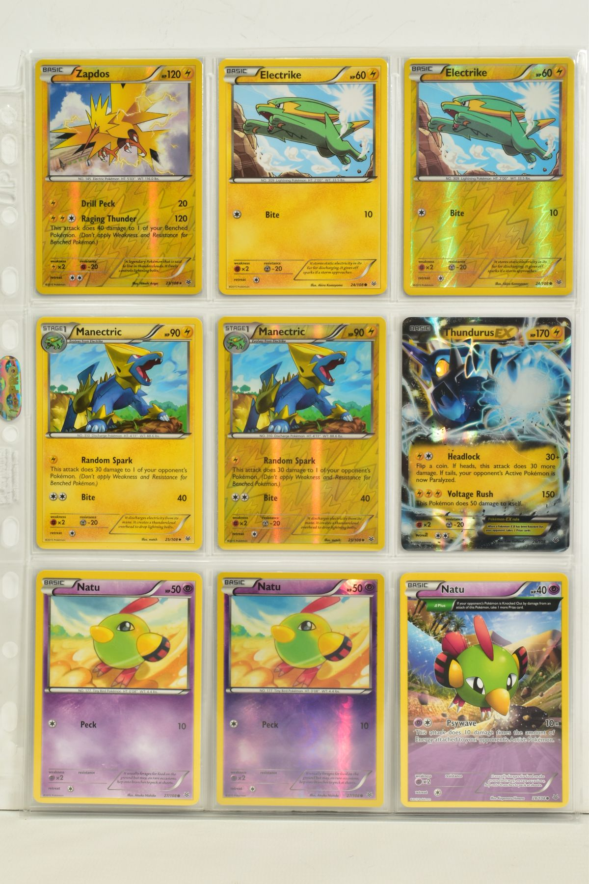 A COLLECTION OF ASSORTED POKEMON CARDS, to include complete master sets of XY Breakpoint, XY Roaring - Image 70 of 108