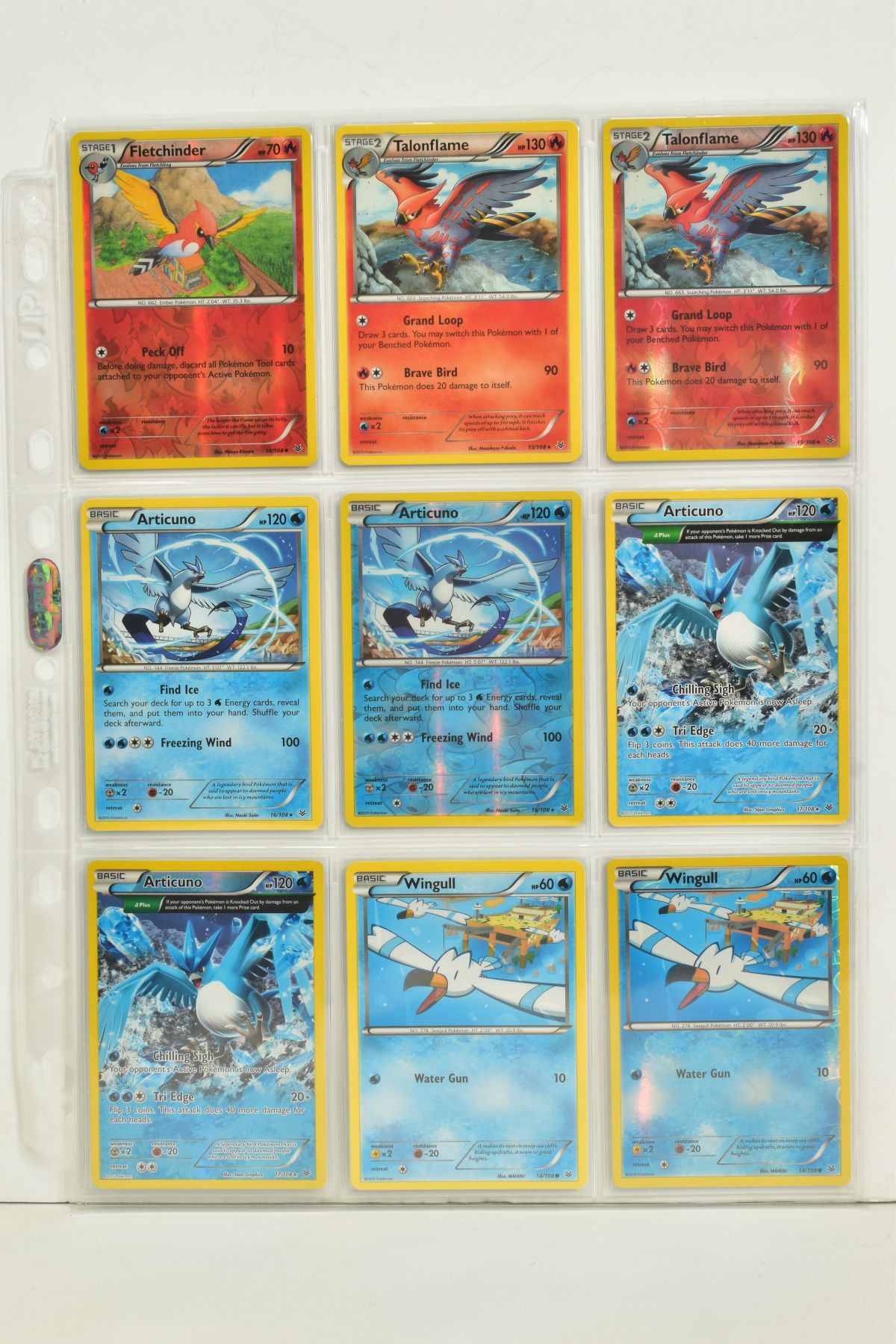 A COLLECTION OF ASSORTED POKEMON CARDS, to include complete master sets of XY Breakpoint, XY Roaring - Image 68 of 108