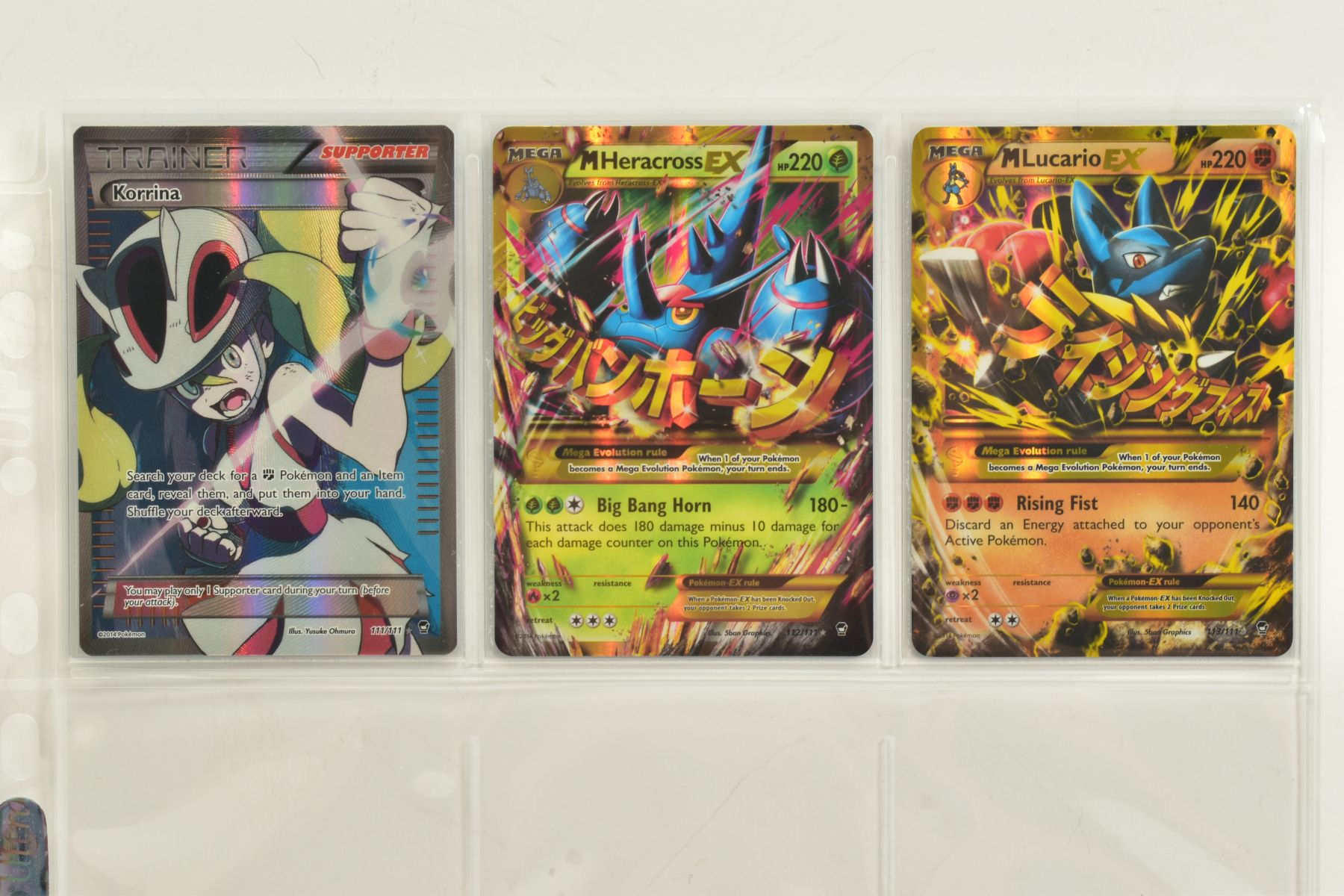A COLLECTION OF ASSORTED POKEMON CARDS, to include complete master sets of XY Phantom Forces, XY - Image 100 of 101