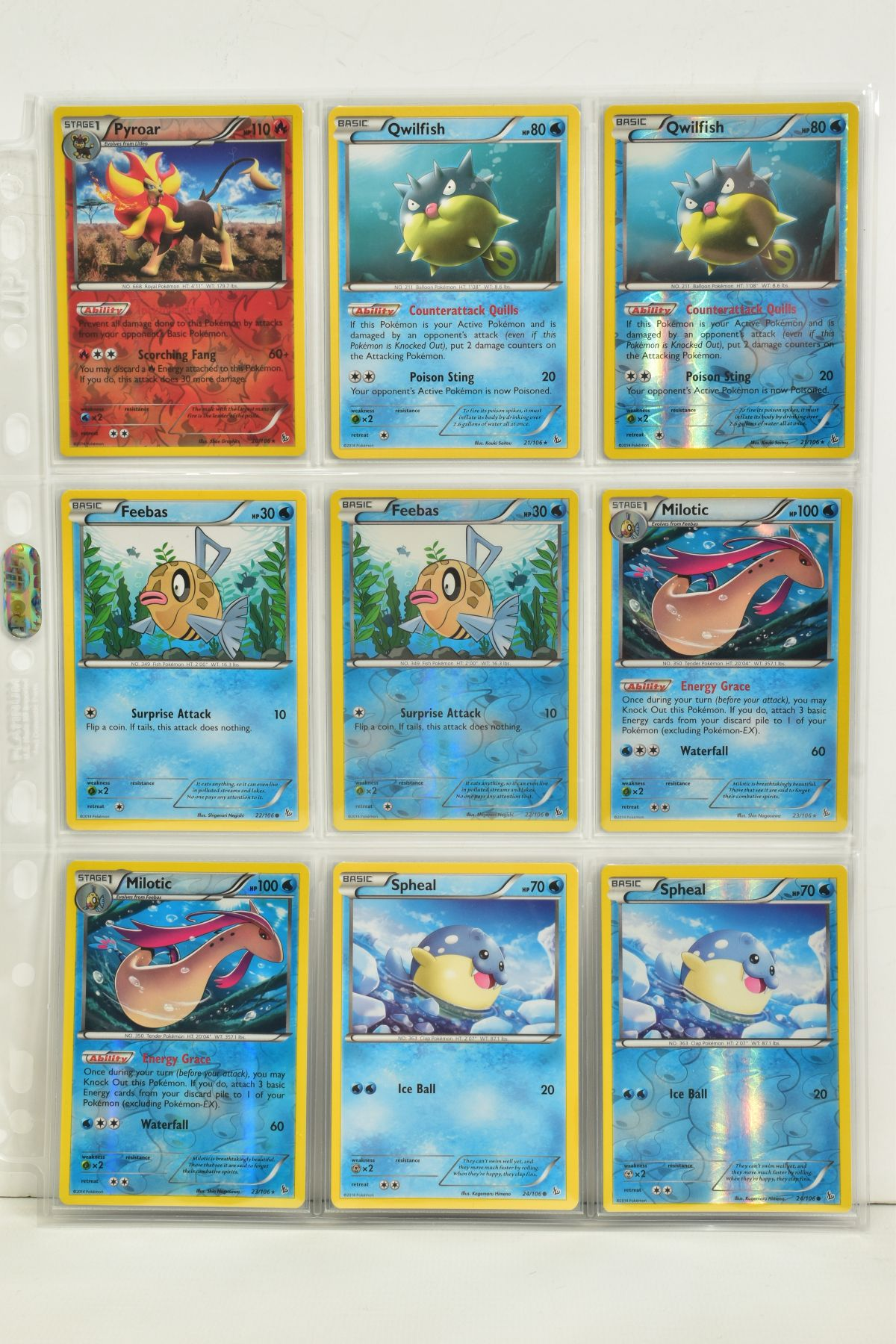 A COLLECTION OF ASSORTED POKEMON CARDS, to include complete master sets of XY Steam Siege, XY - Image 6 of 87