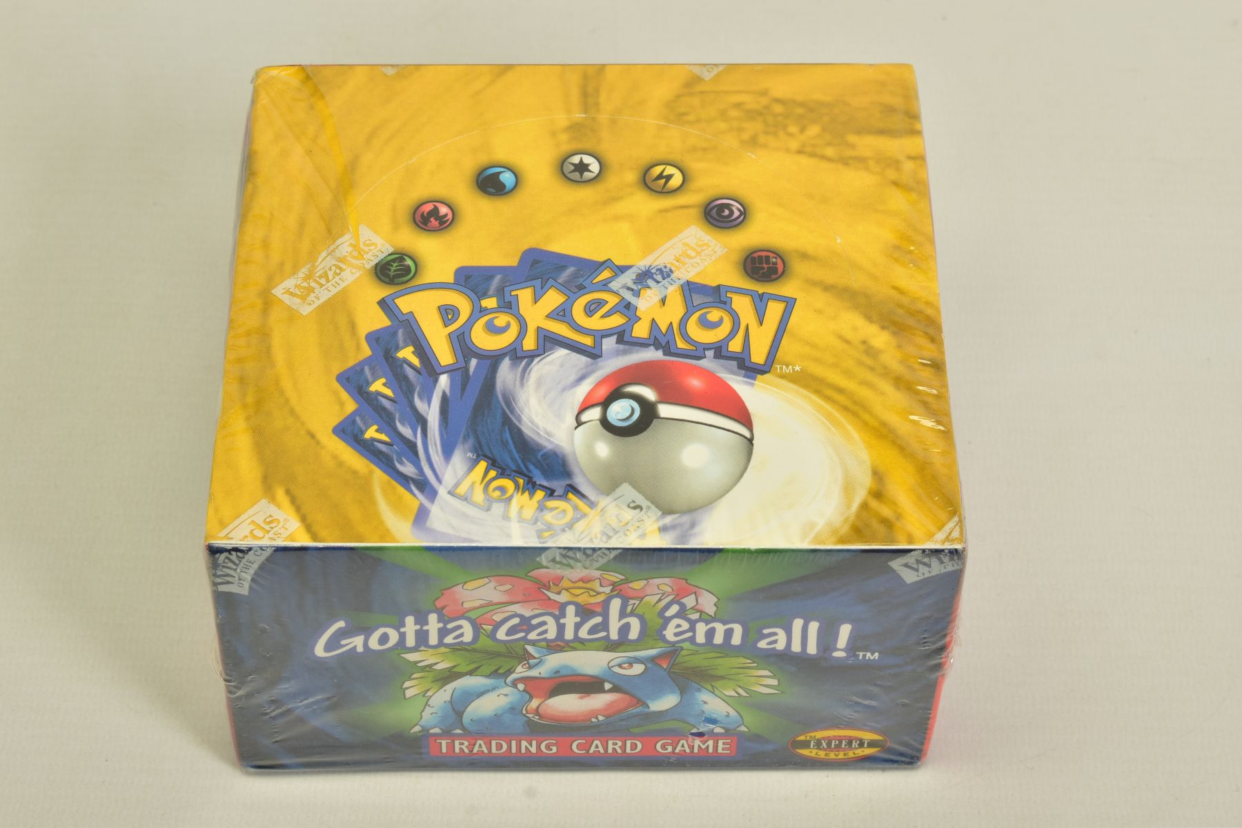 A SEALED POKEMON BASE SET BOOSTER BOX, has some minor damage to cellophane on top left hand corner - Image 13 of 13