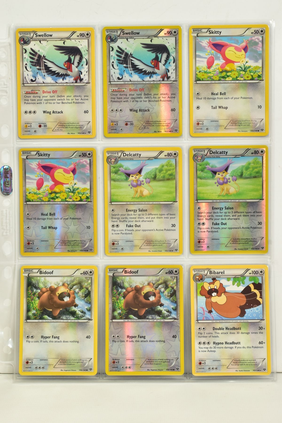 A COLLECTION OF ASSORTED POKEMON CARDS, to include complete master sets of XY Primal Clash, XY - Image 116 of 144