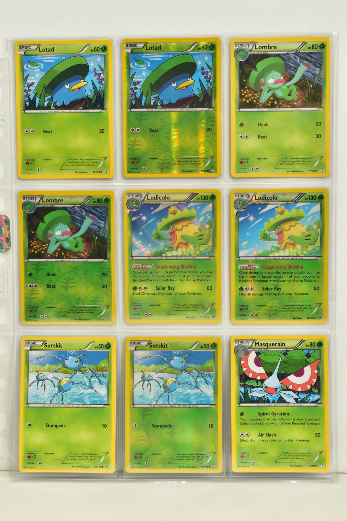 A COLLECTION OF ASSORTED POKEMON CARDS, to include complete master sets of XY Primal Clash, XY - Image 36 of 144