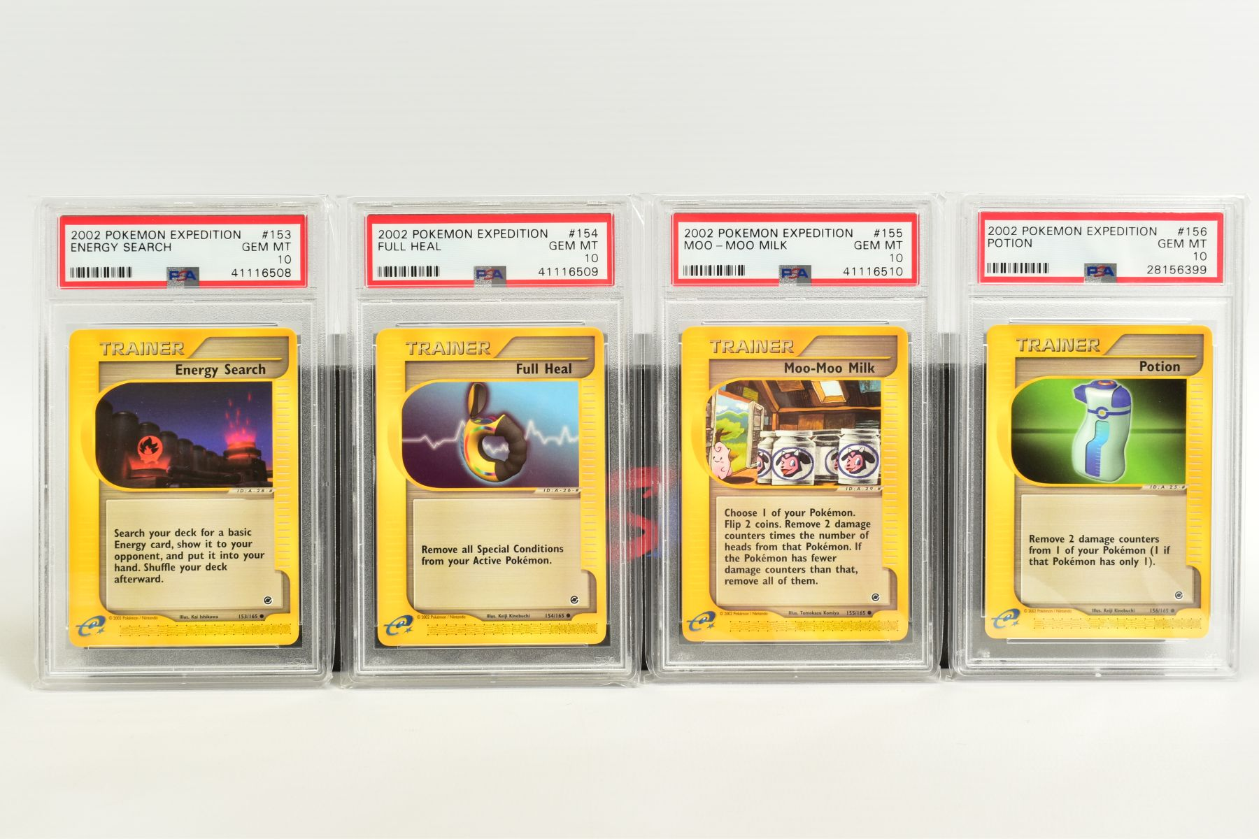 A QUANTITY OF PSA GRADED POKEMON E CARD EXPEDITION BASE SET CARDS, all are graded GEM MINT 10 and - Image 11 of 12