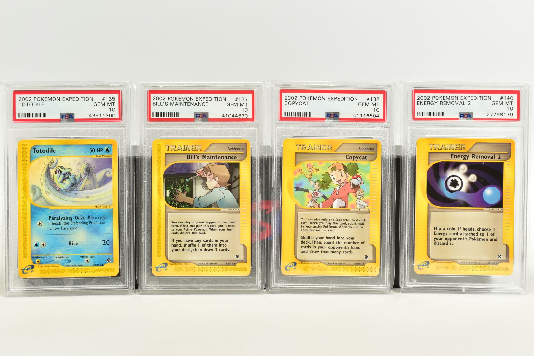 A QUANTITY OF PSA GRADED POKEMON E CARD EXPEDITION BASE SET CARDS, all are graded GEM MINT 10 and - Image 9 of 12