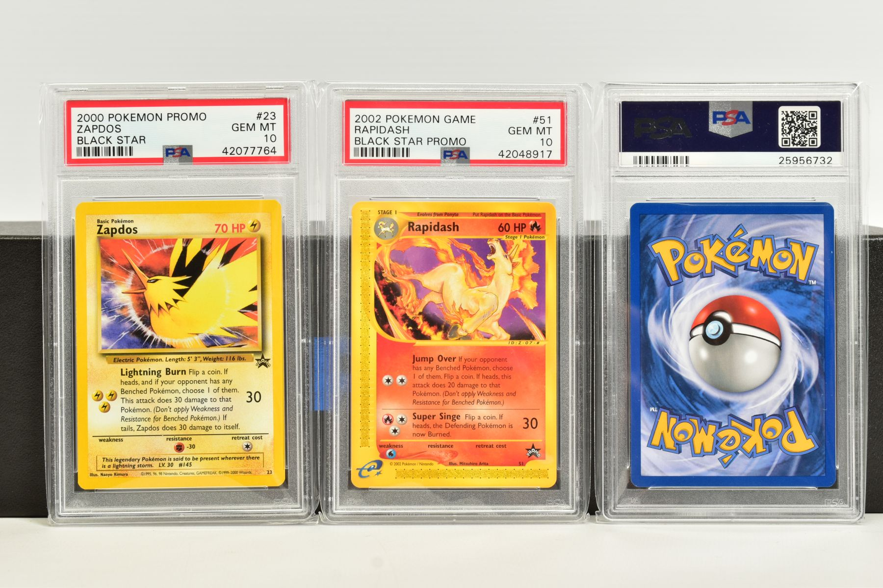 A QUANTITY OF PSA GRADED WIZARDS OF THE COAST POKEMON BLACK STAR PROMO CARDS, all date from 2000 - Image 8 of 8