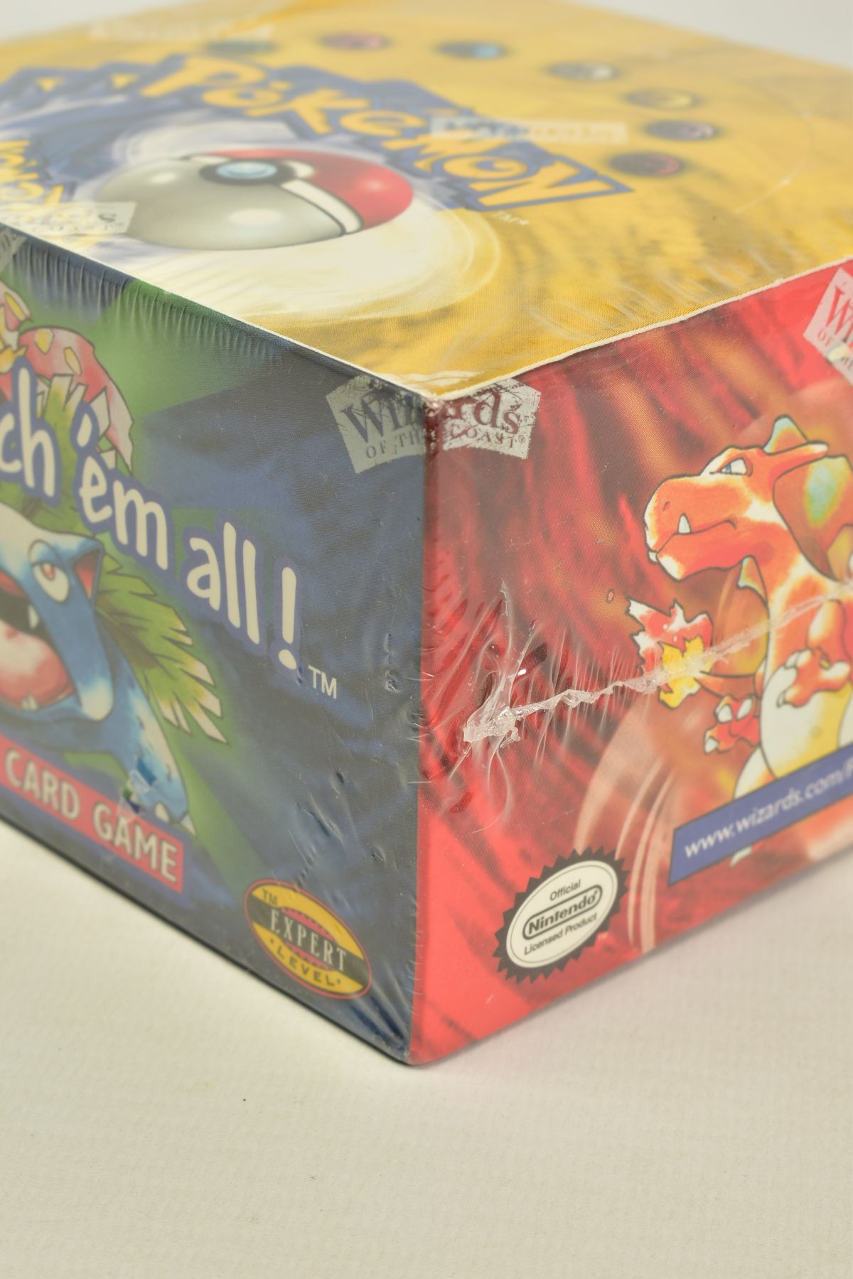 A SEALED POKEMON BASE SET BOOSTER BOX, has some minor damage to cellophane on top left hand corner - Image 9 of 13