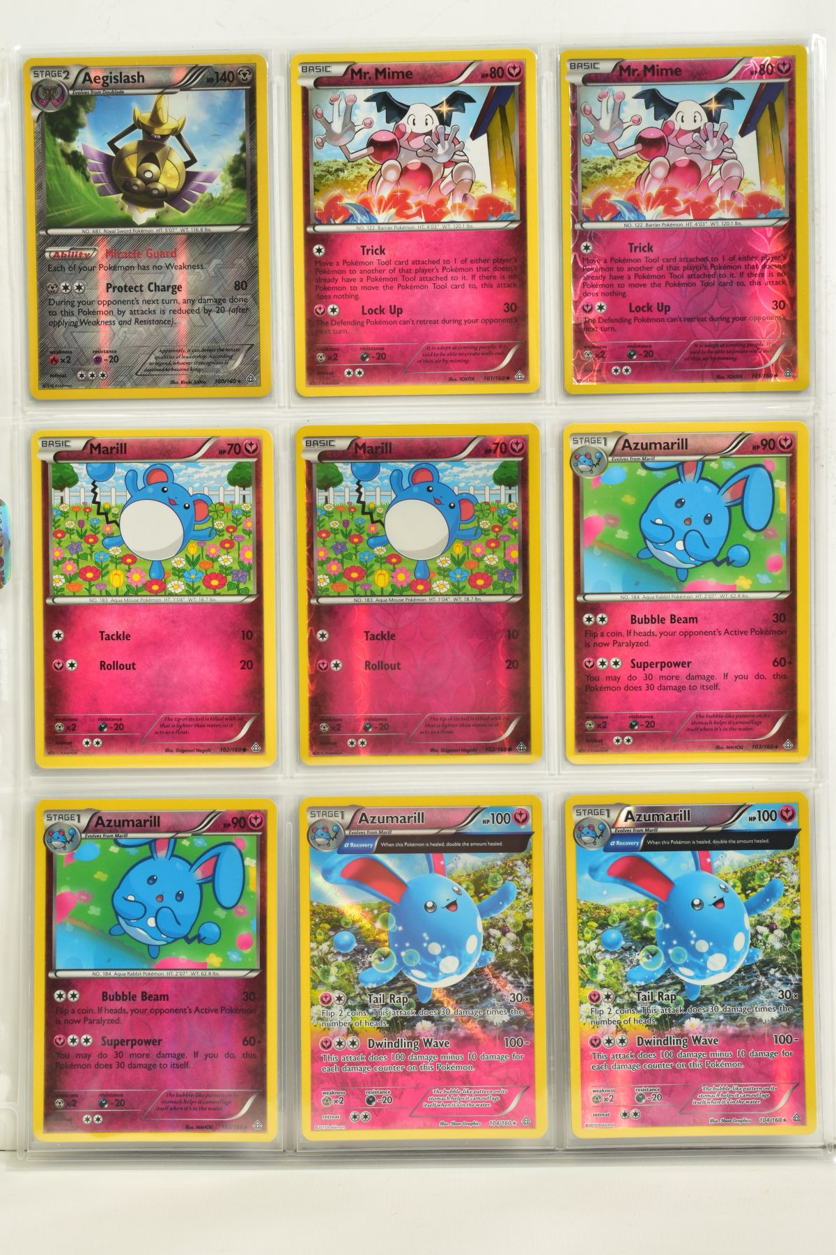A COLLECTION OF ASSORTED POKEMON CARDS, to include complete master sets of XY Primal Clash, XY - Image 55 of 144