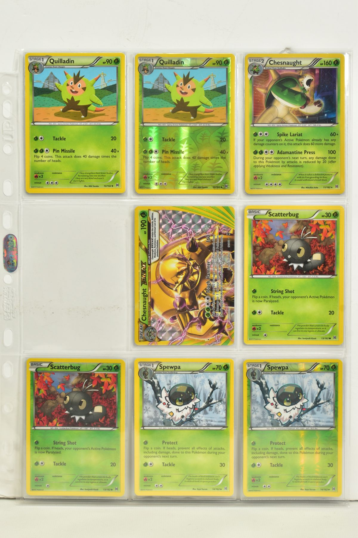 A COLLECTION OF ASSORTED POKEMON CARDS, to include complete master sets of XY Breakpoint, XY Roaring - Image 4 of 108