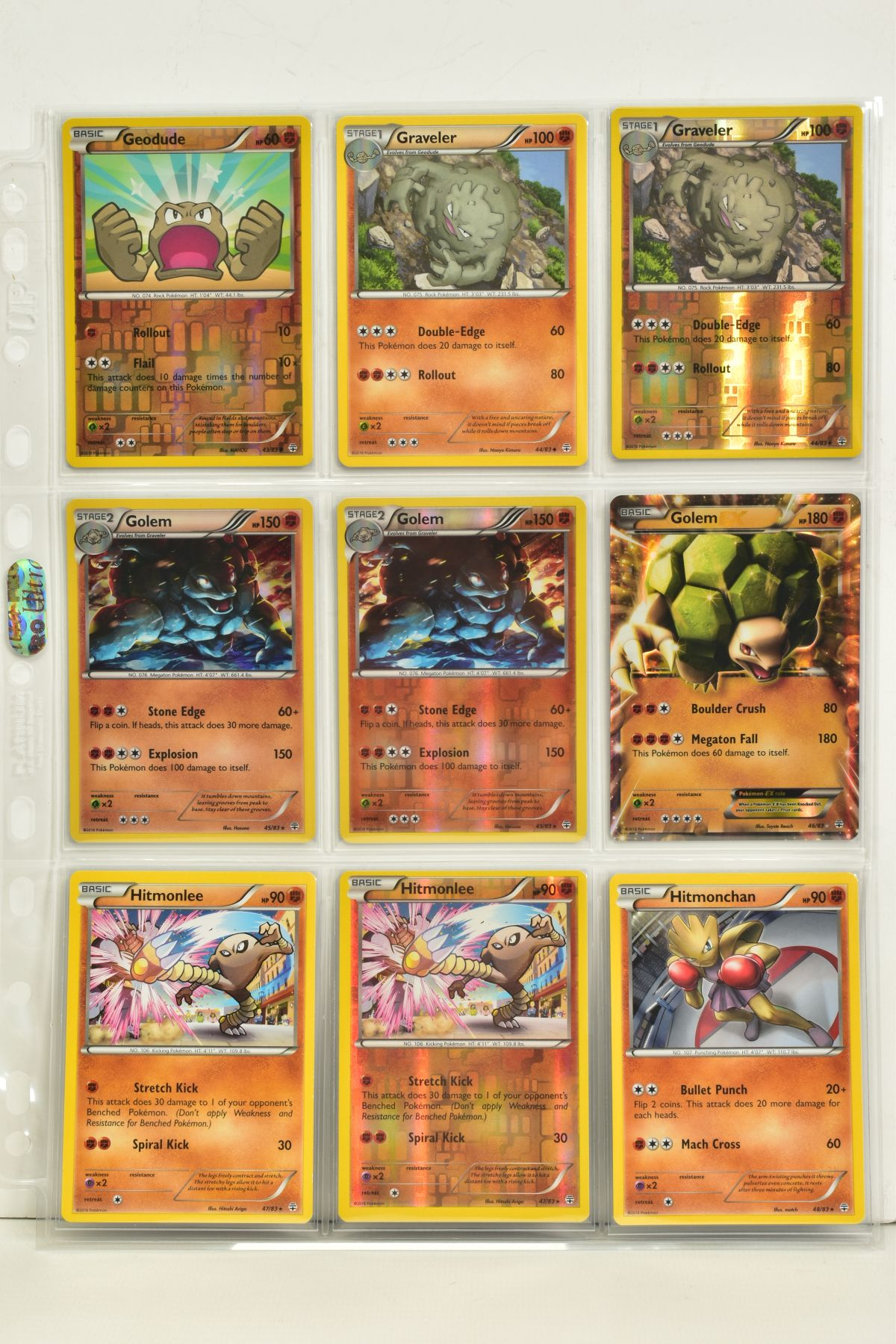A COLLECTION OF ASSORTED POKEMON CARDS, to include complete master sets of XY Primal Clash, XY - Image 79 of 144