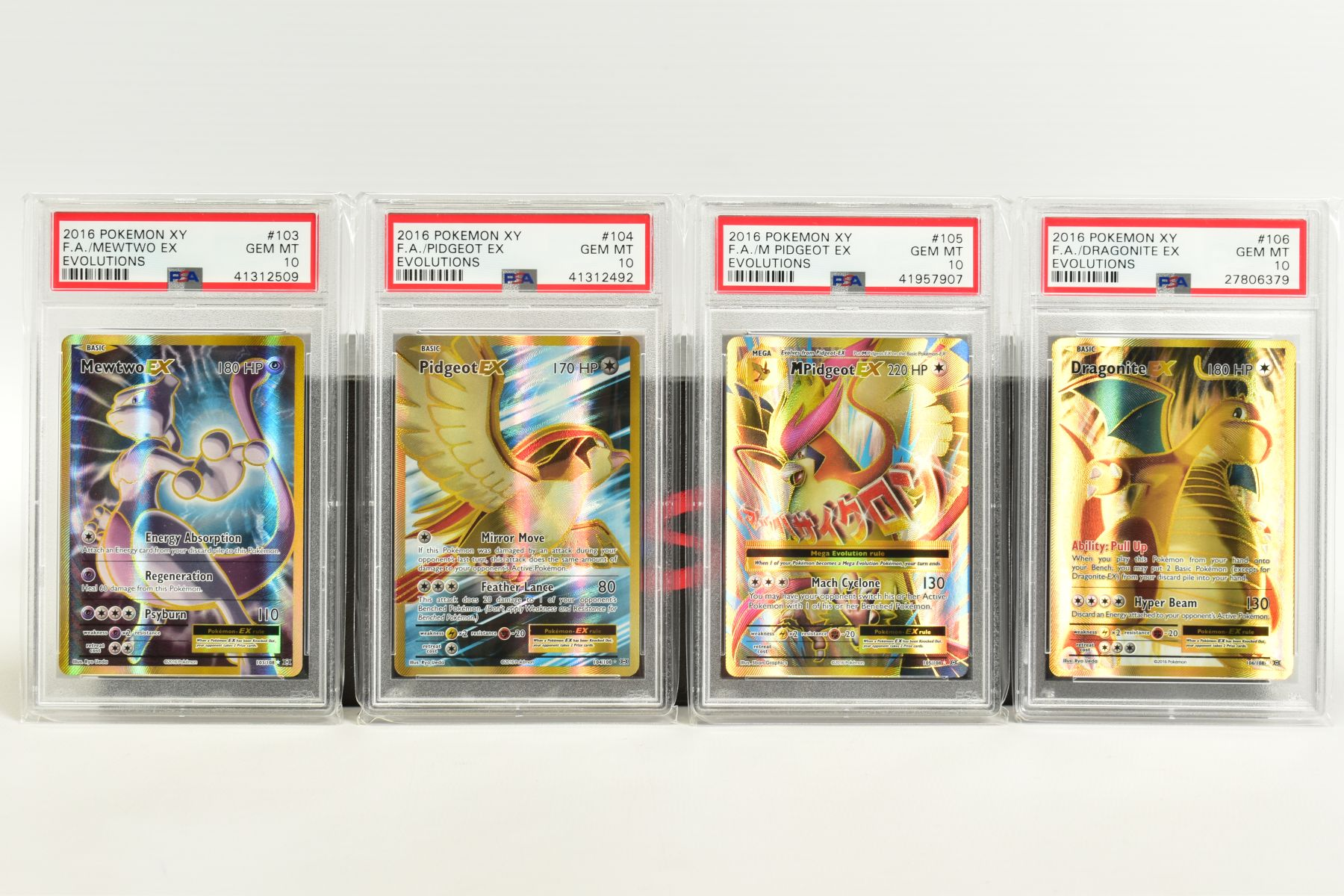 A QUANTITY OF PSA GRADED POKEMON XY EVOLUTIONS SET CARDS, all are graded GEM MINT 10 and are - Image 7 of 10