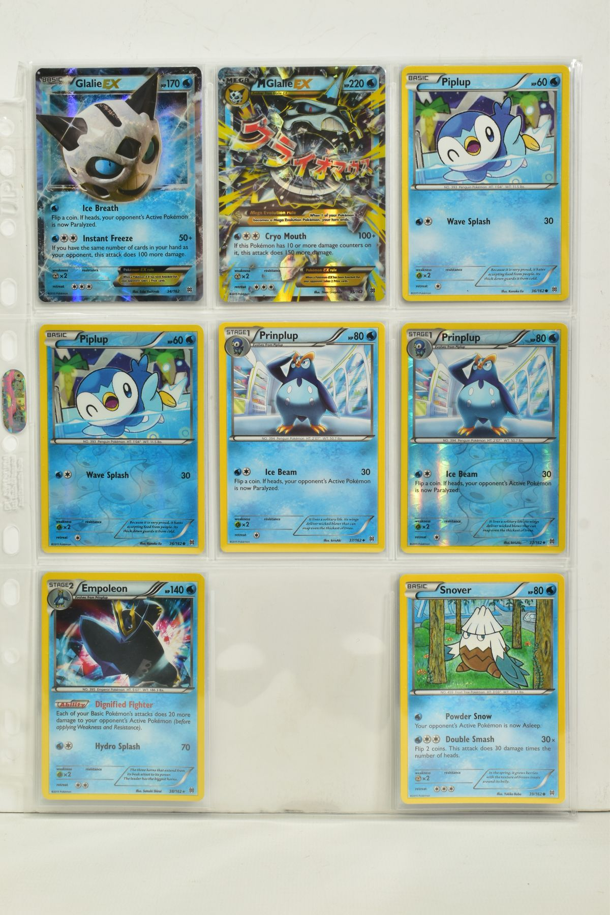 A COLLECTION OF ASSORTED POKEMON CARDS, to include complete master sets of XY Breakpoint, XY Roaring - Image 9 of 108