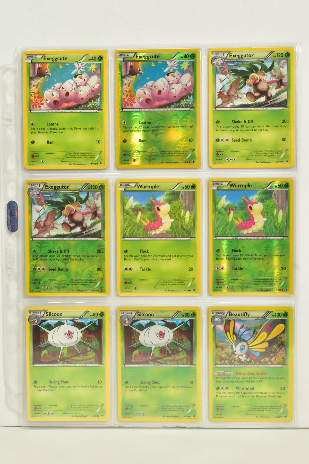 A COLLECTION OF ASSORTED POKEMON CARDS, to include complete master sets of XY Breakpoint, XY Roaring - Image 65 of 108