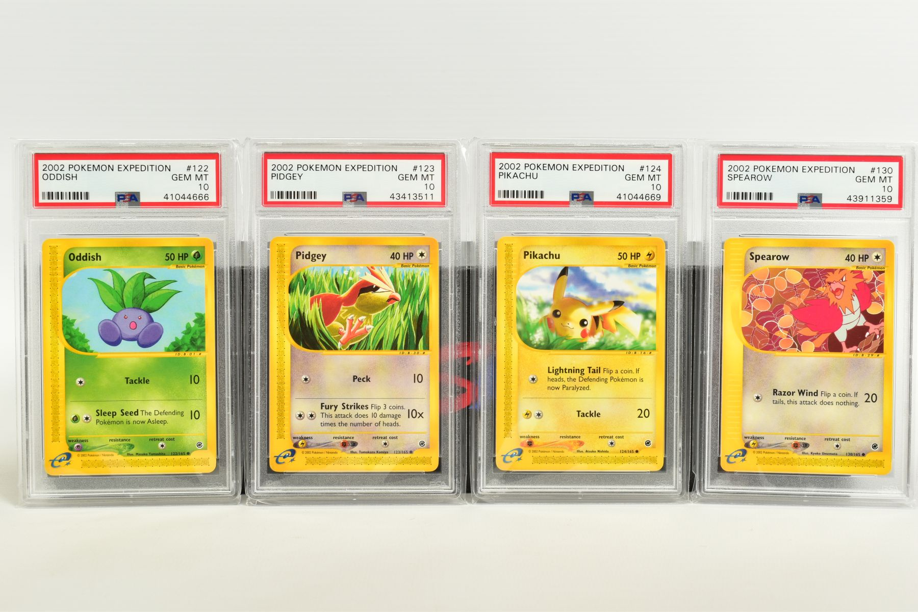A QUANTITY OF PSA GRADED POKEMON E CARD EXPEDITION BASE SET CARDS, all are graded GEM MINT 10 and - Image 8 of 12