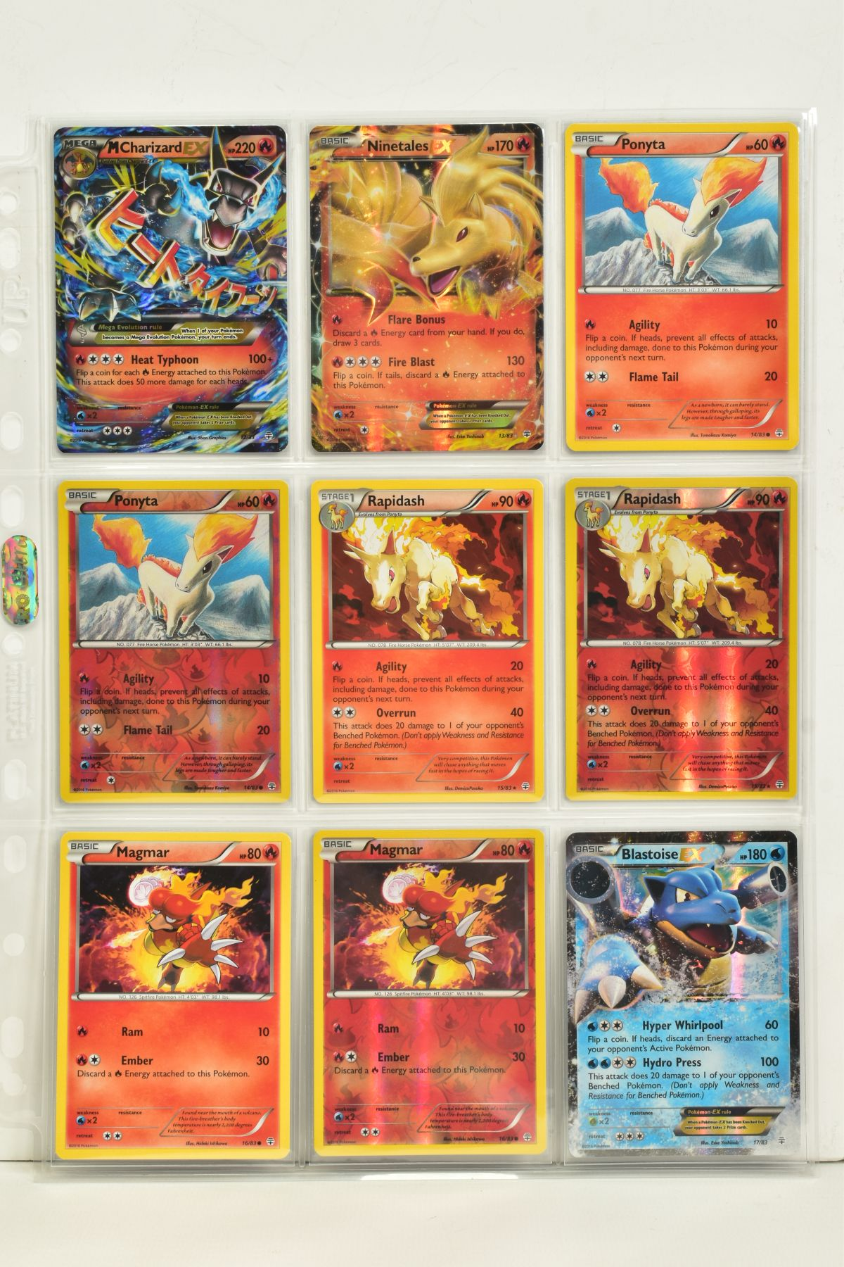 A COLLECTION OF ASSORTED POKEMON CARDS, to include complete master sets of XY Primal Clash, XY - Image 73 of 144