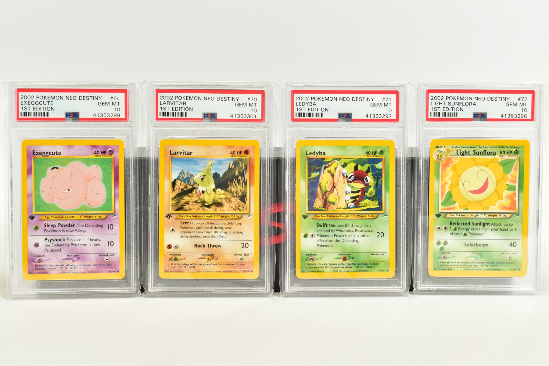 A QUANTITY OF PSA GRADED POKEMON 1ST EDITION NEO DESTINY SET CARDS, all are graded GEM MINT 10 and - Image 4 of 7