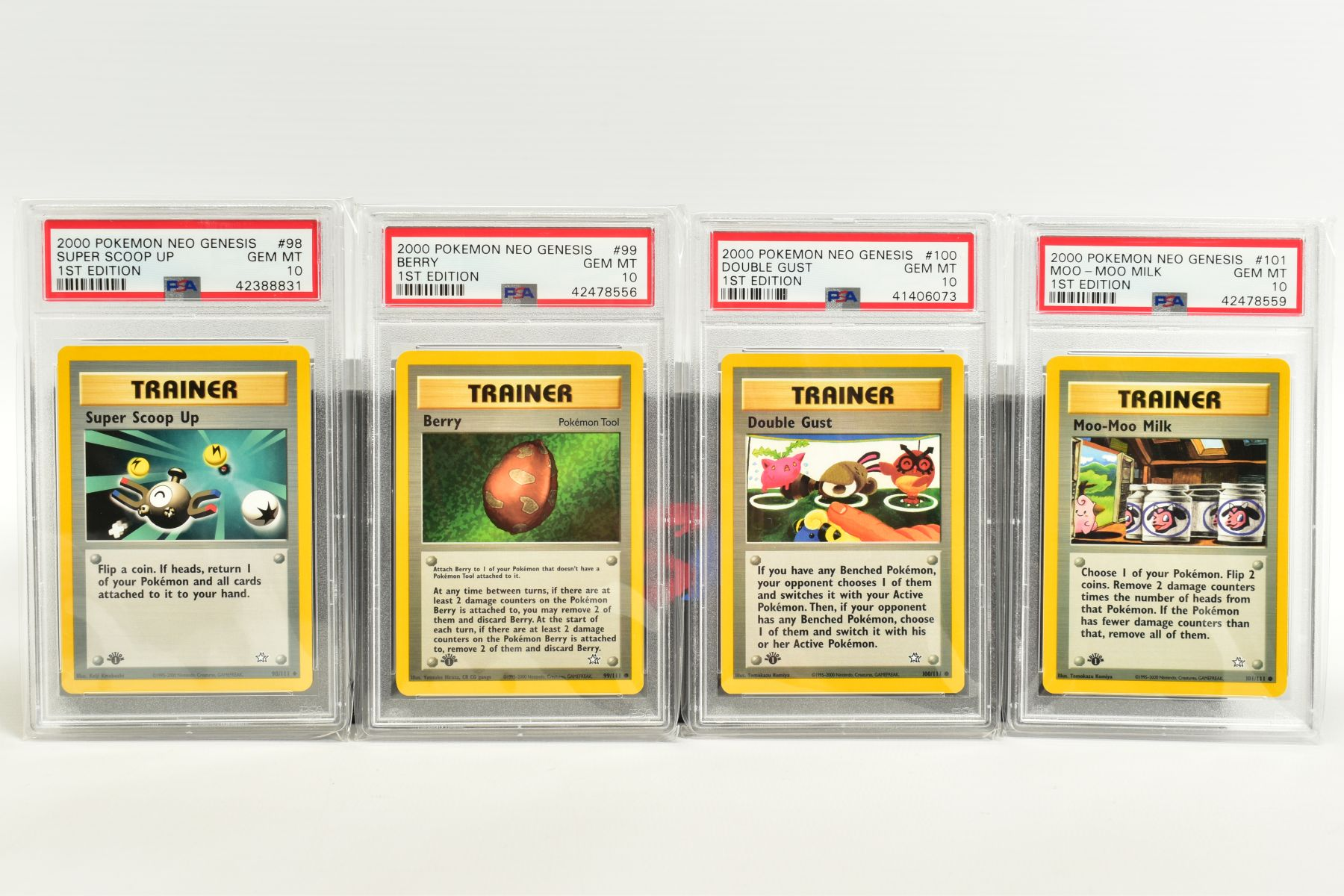 A QUANTITY OF PSA GRADED POKEMON 1ST EDITION NEO GENESIS SET CARDS, all are graded GEM MINT 10 and - Image 21 of 24
