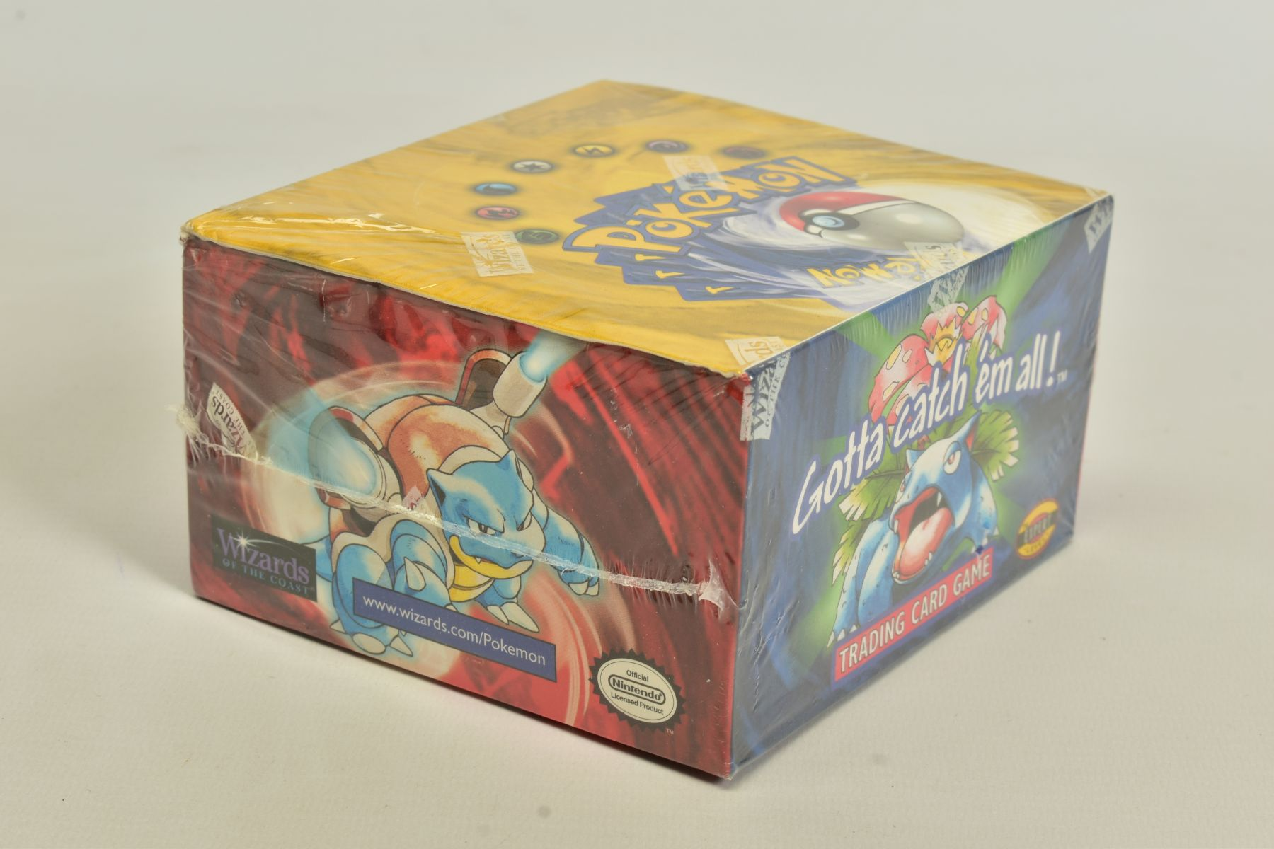 A SEALED POKEMON BASE SET BOOSTER BOX, has some minor damage to cellophane on top left hand corner - Image 2 of 13