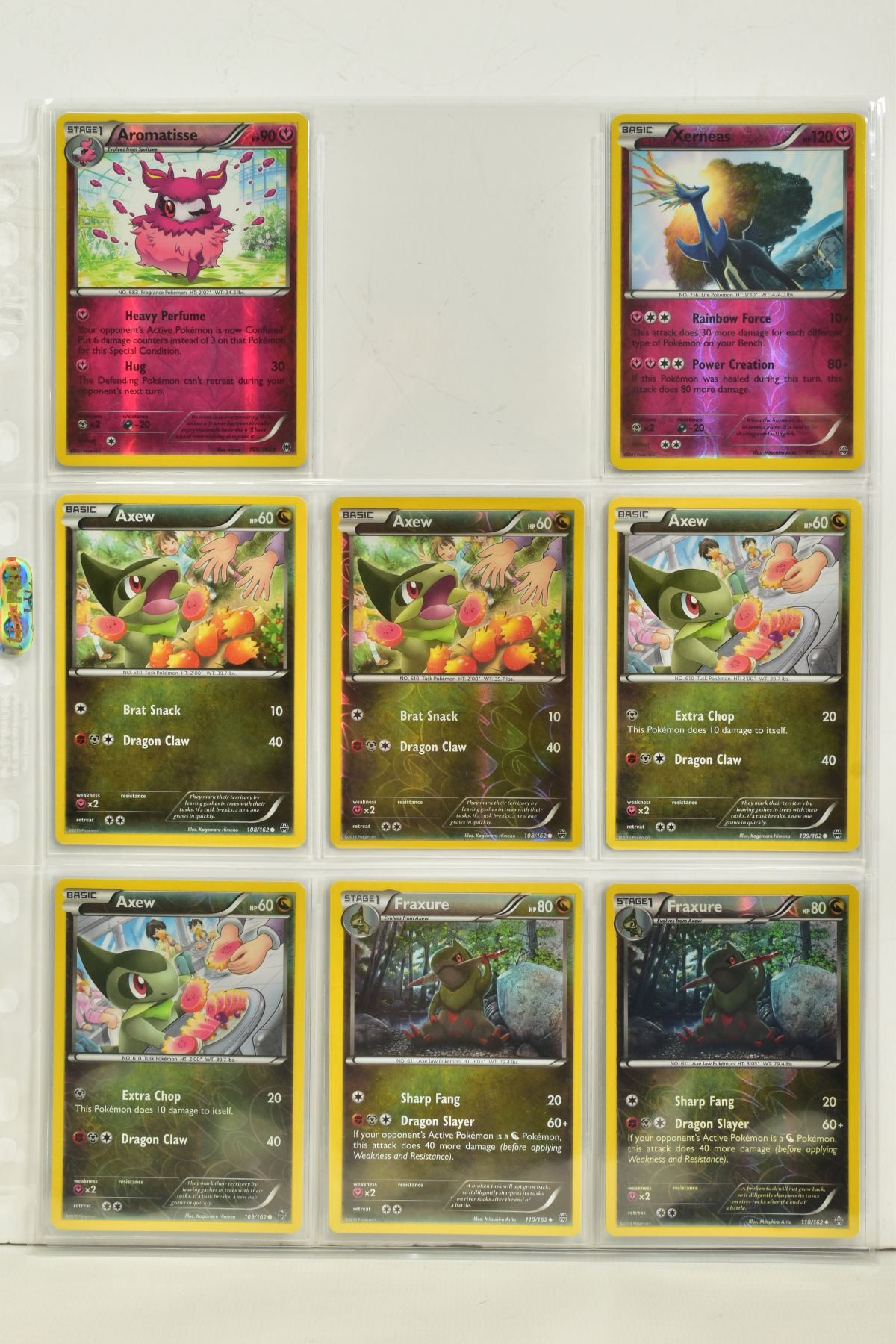 A COLLECTION OF ASSORTED POKEMON CARDS, to include complete master sets of XY Breakpoint, XY Roaring - Image 24 of 108