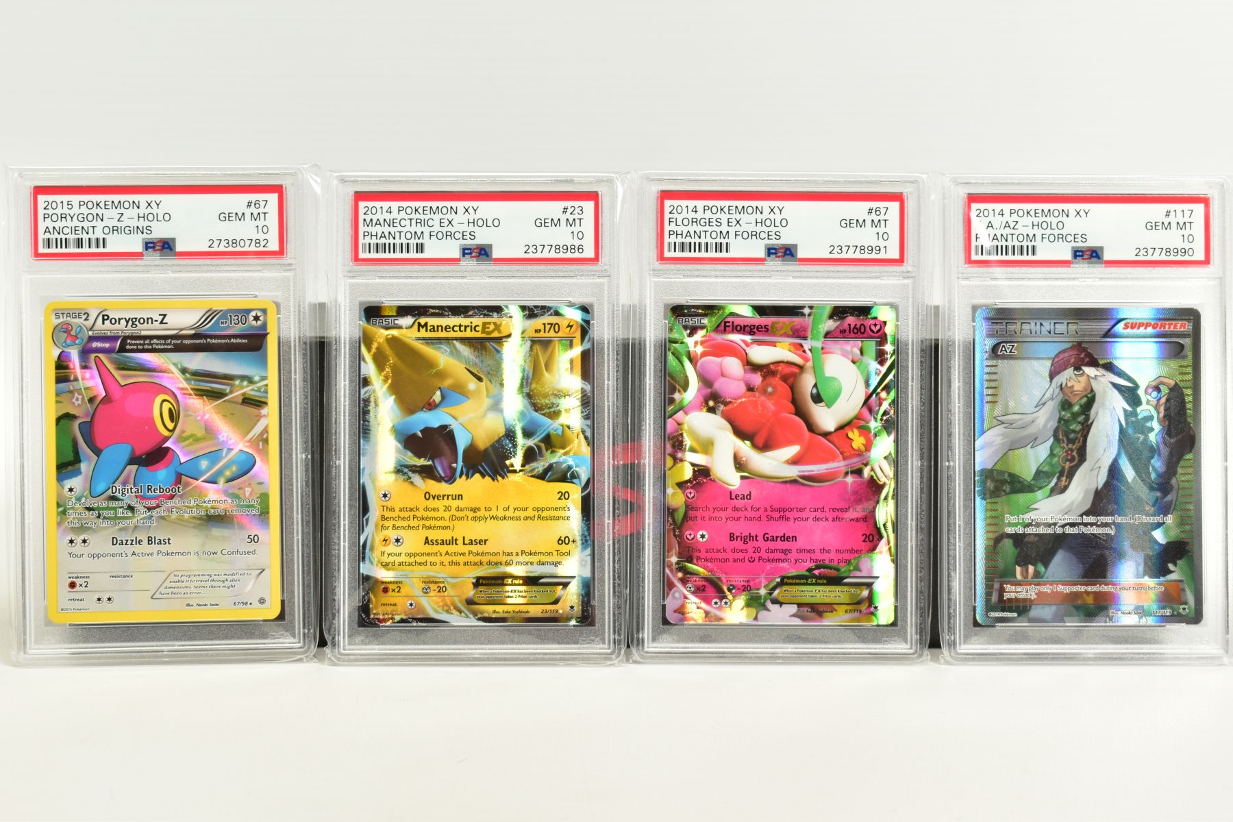 A QUANTITY OF PSA GRADED POKEMON XY CARDS, assorted cards from the XY Ancient Origins, XY Phantom - Image 5 of 6