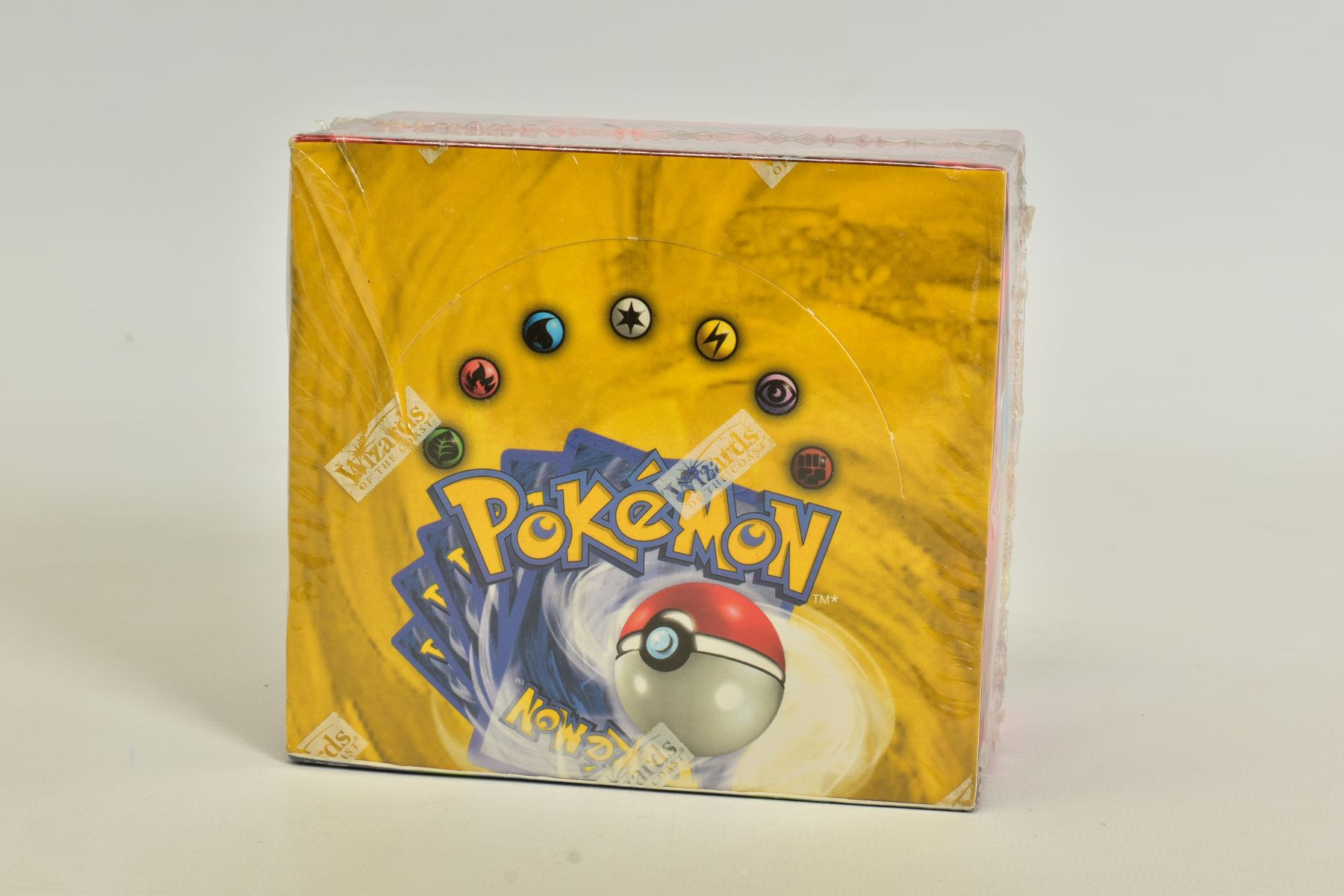 A SEALED POKEMON BASE SET BOOSTER BOX, has some minor damage to cellophane on top left hand corner - Image 5 of 13