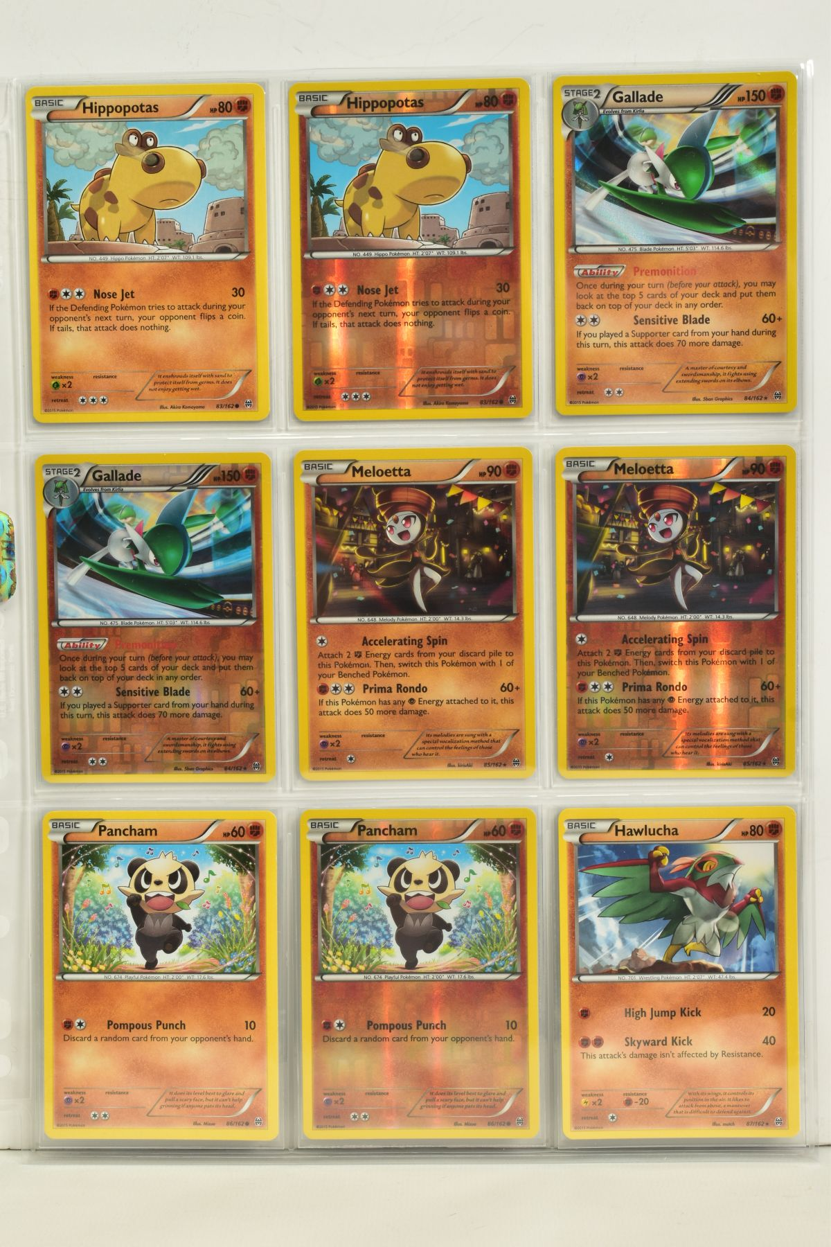 A COLLECTION OF ASSORTED POKEMON CARDS, to include complete master sets of XY Breakpoint, XY Roaring - Image 19 of 108