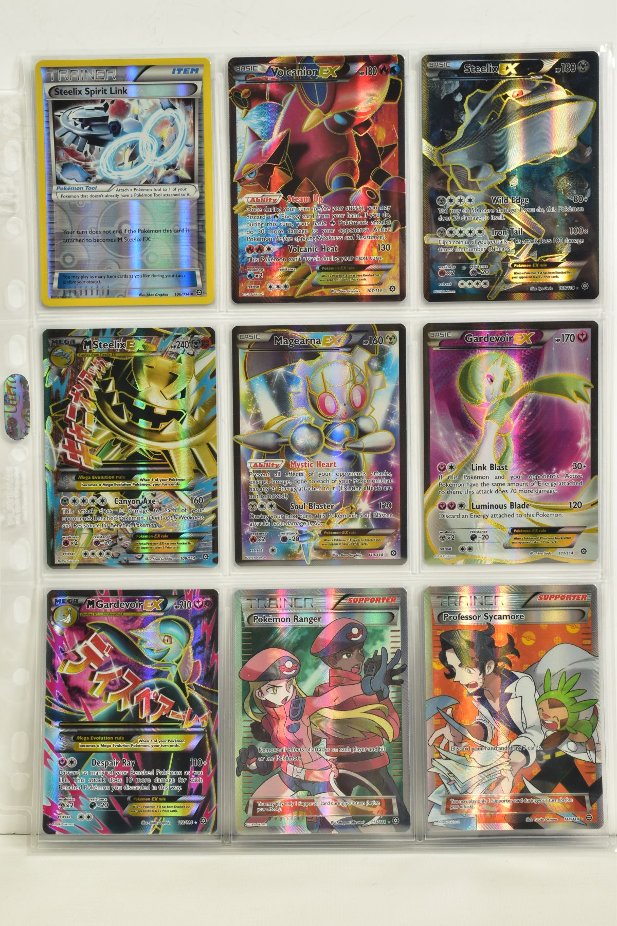 A COLLECTION OF ASSORTED POKEMON CARDS, to include complete master sets of XY Steam Siege, XY - Image 84 of 87