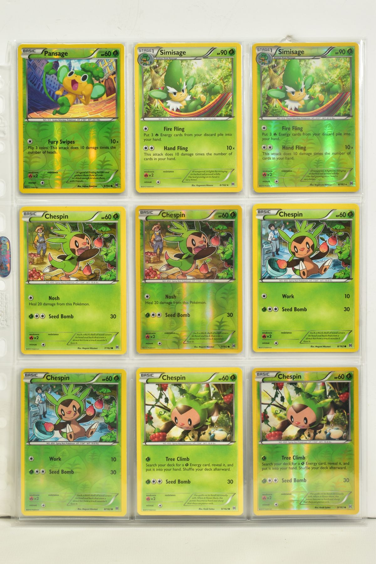 A COLLECTION OF ASSORTED POKEMON CARDS, to include complete master sets of XY Breakpoint, XY Roaring - Image 3 of 108