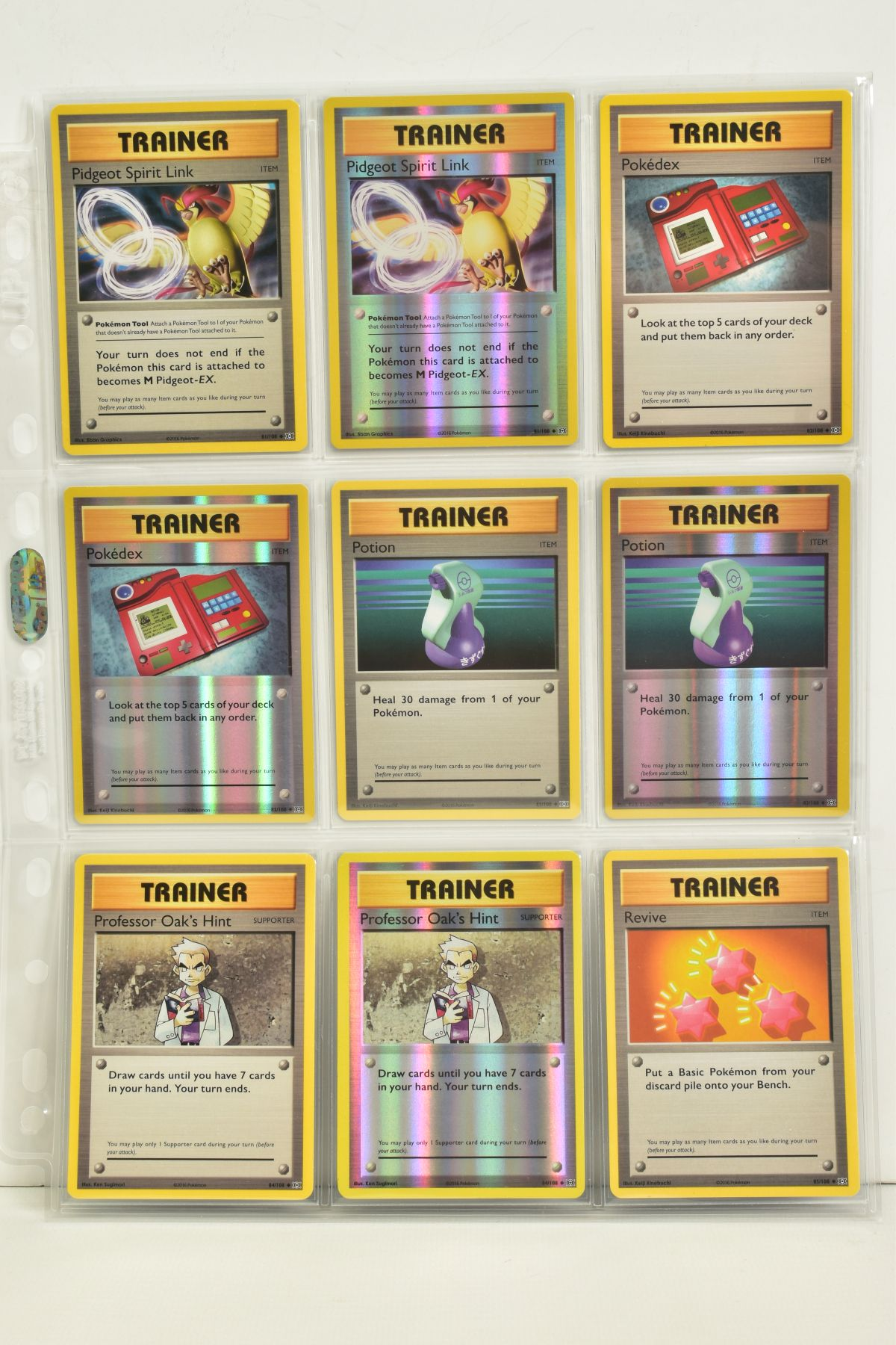 A COLLECTION OF ASSORTED POKEMON CARDS, to include complete master sets of XY Breakpoint, XY Roaring - Image 103 of 108