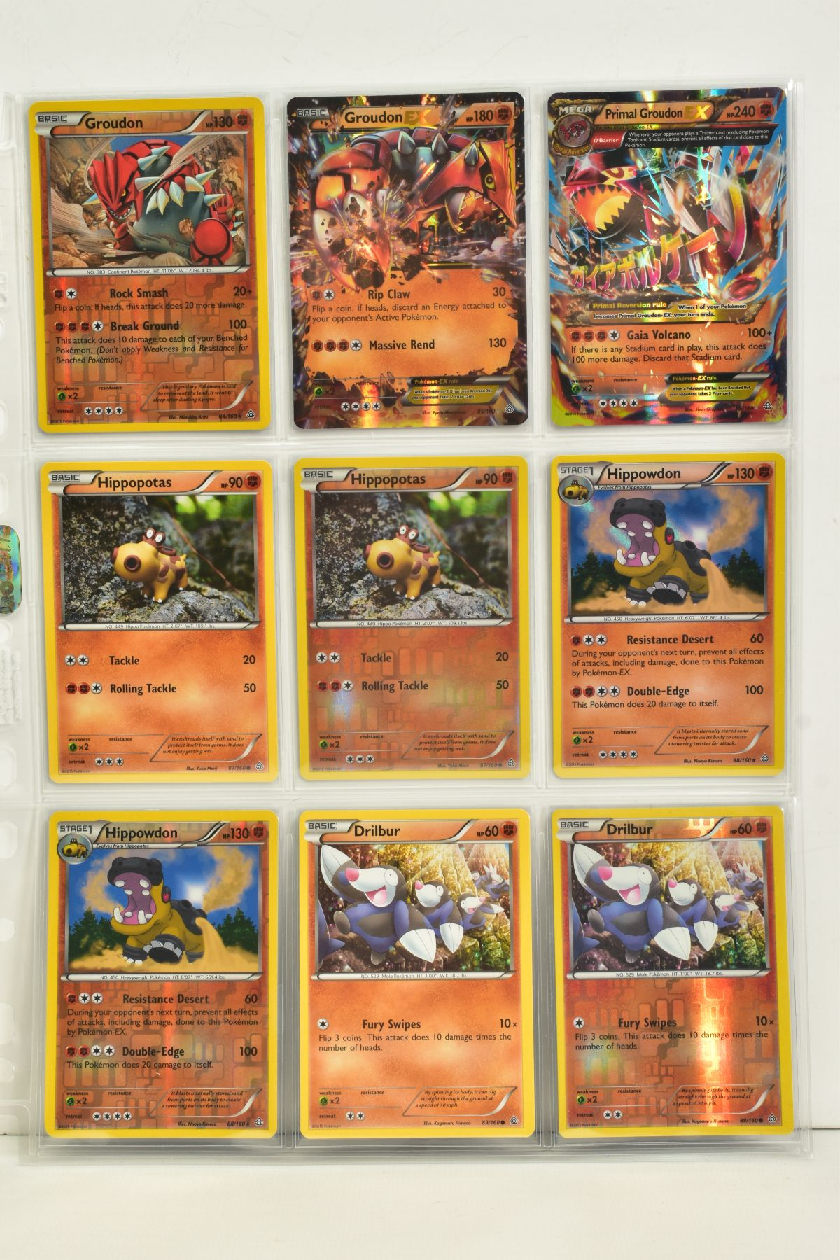 A COLLECTION OF ASSORTED POKEMON CARDS, to include complete master sets of XY Primal Clash, XY - Image 52 of 144