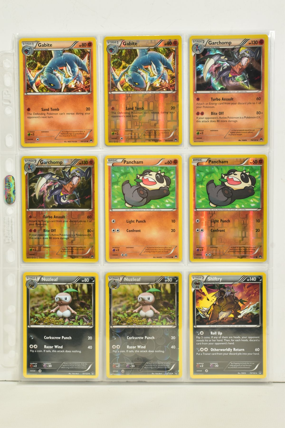 A COLLECTION OF ASSORTED POKEMON CARDS, to include complete master sets of XY Breakpoint, XY Roaring - Image 54 of 108