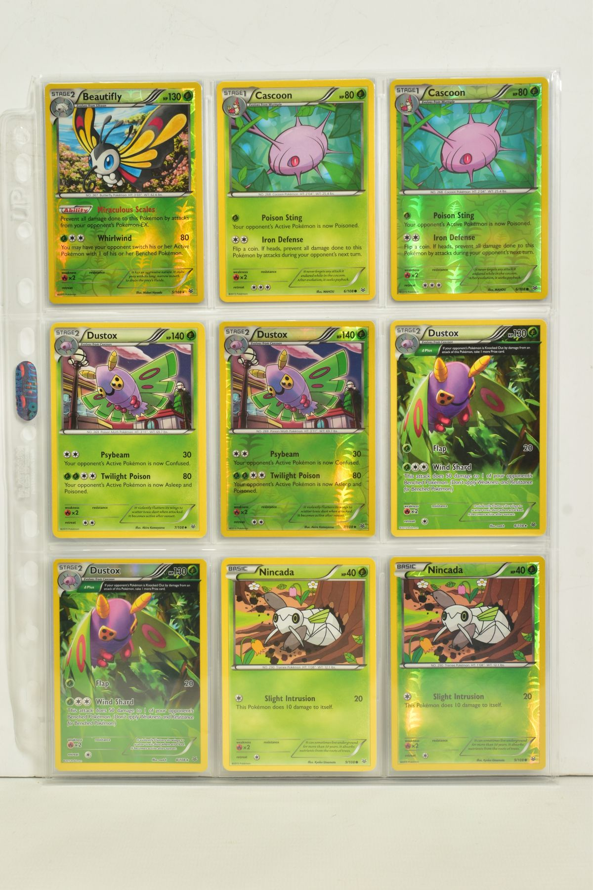 A COLLECTION OF ASSORTED POKEMON CARDS, to include complete master sets of XY Breakpoint, XY Roaring - Image 66 of 108