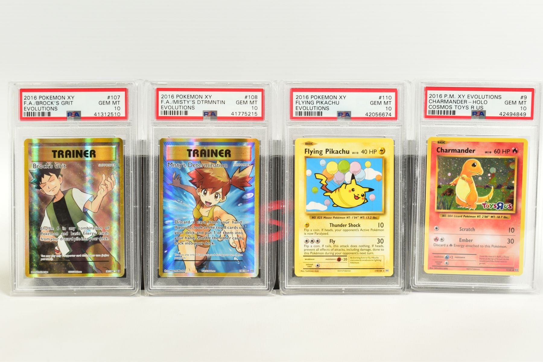 A QUANTITY OF PSA GRADED POKEMON XY EVOLUTIONS SET CARDS, all are graded GEM MINT 10 and are - Image 8 of 10