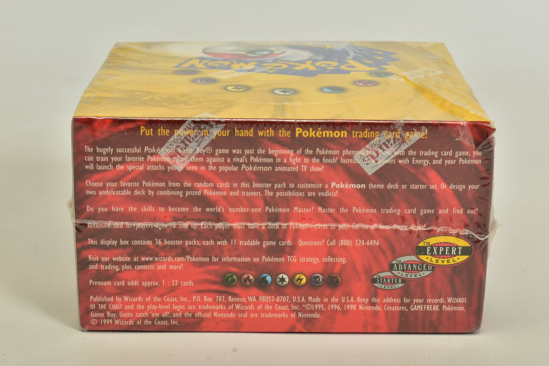 A SEALED POKEMON BASE SET BOOSTER BOX, has some minor damage to cellophane on top left hand corner - Image 3 of 13