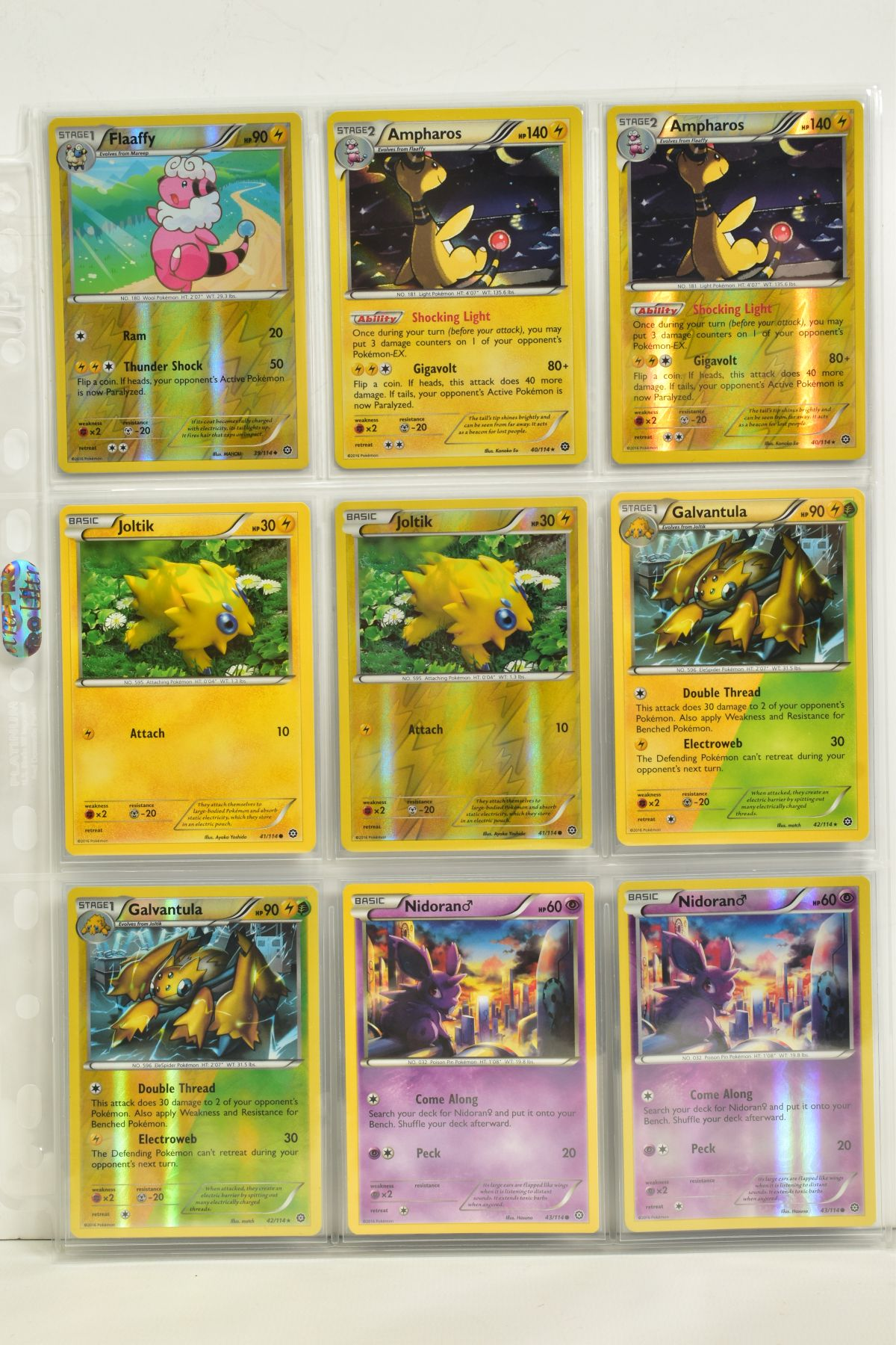 A COLLECTION OF ASSORTED POKEMON CARDS, to include complete master sets of XY Steam Siege, XY - Image 70 of 87