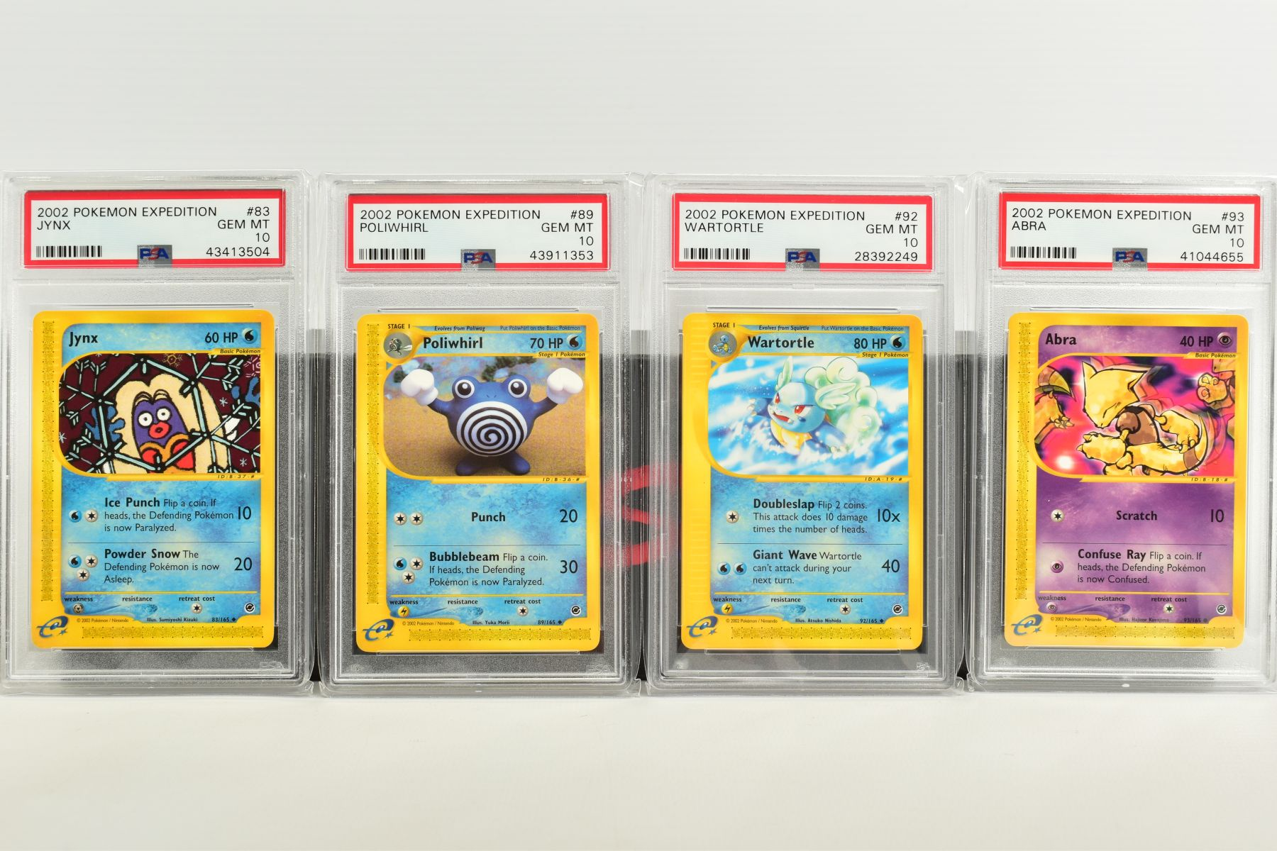 A QUANTITY OF PSA GRADED POKEMON E CARD EXPEDITION BASE SET CARDS, all are graded GEM MINT 10 and - Image 5 of 12