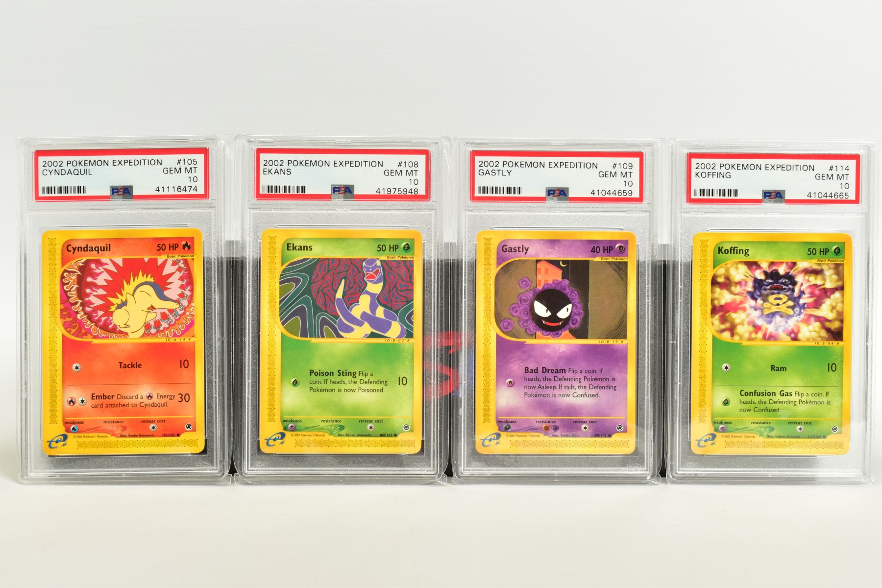 A QUANTITY OF PSA GRADED POKEMON E CARD EXPEDITION BASE SET CARDS, all are graded GEM MINT 10 and - Image 6 of 12