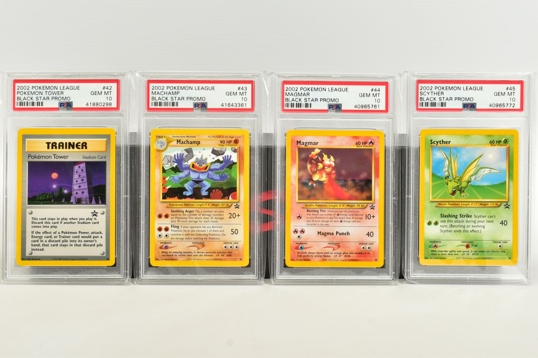 A QUANTITY OF PSA GRADED WIZARDS OF THE COAST POKEMON BLACK STAR PROMO CARDS, all date from 2000 - Image 4 of 8