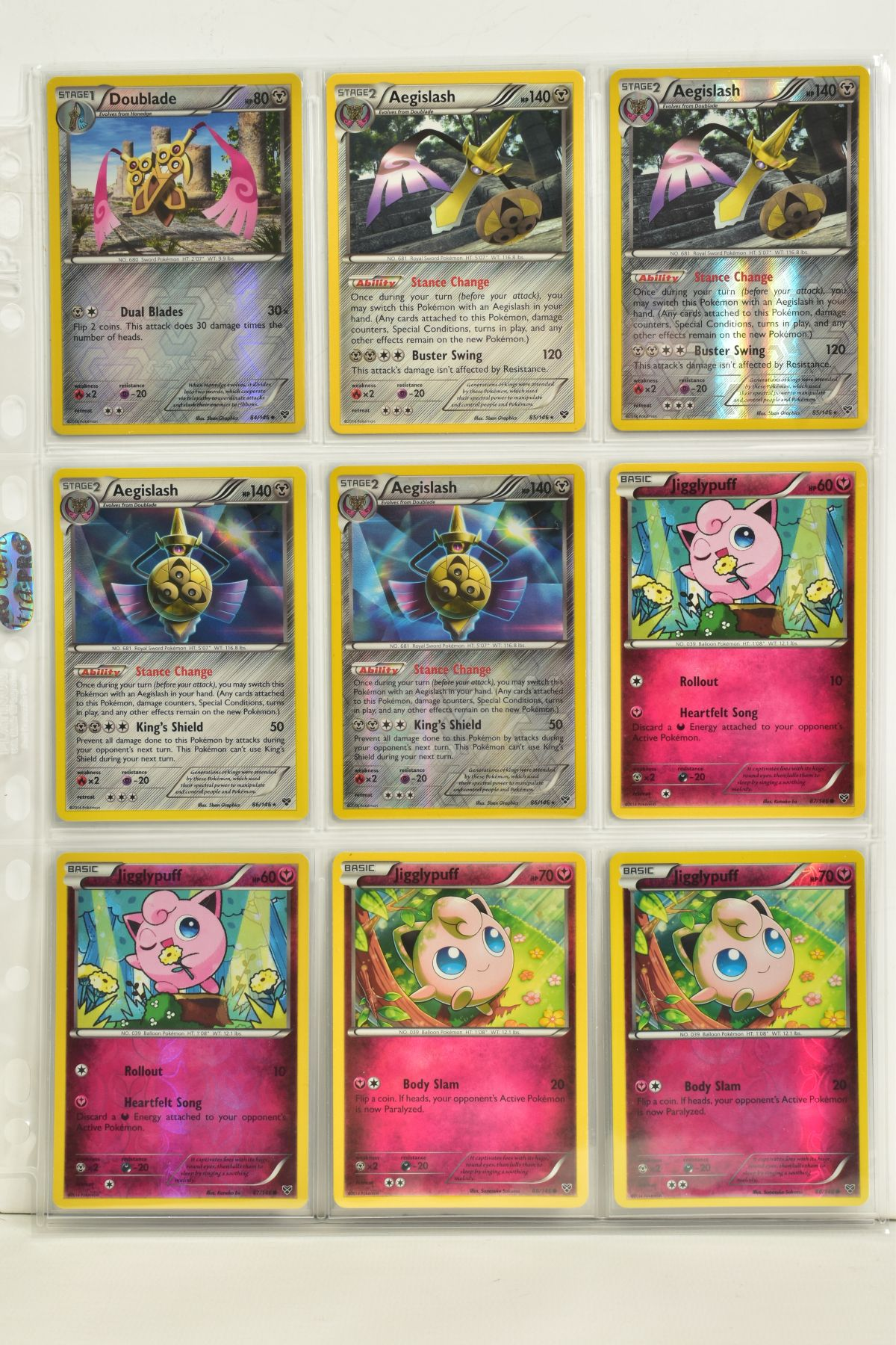 A COLLECTION OF ASSORTED POKEMON CARDS, to include complete master sets of XY Primal Clash, XY - Image 112 of 144