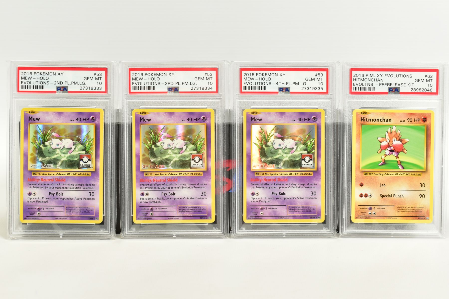 A QUANTITY OF PSA GRADED POKEMON XY EVOLUTIONS SET CARDS, all are graded GEM MINT 10 and are - Image 10 of 10