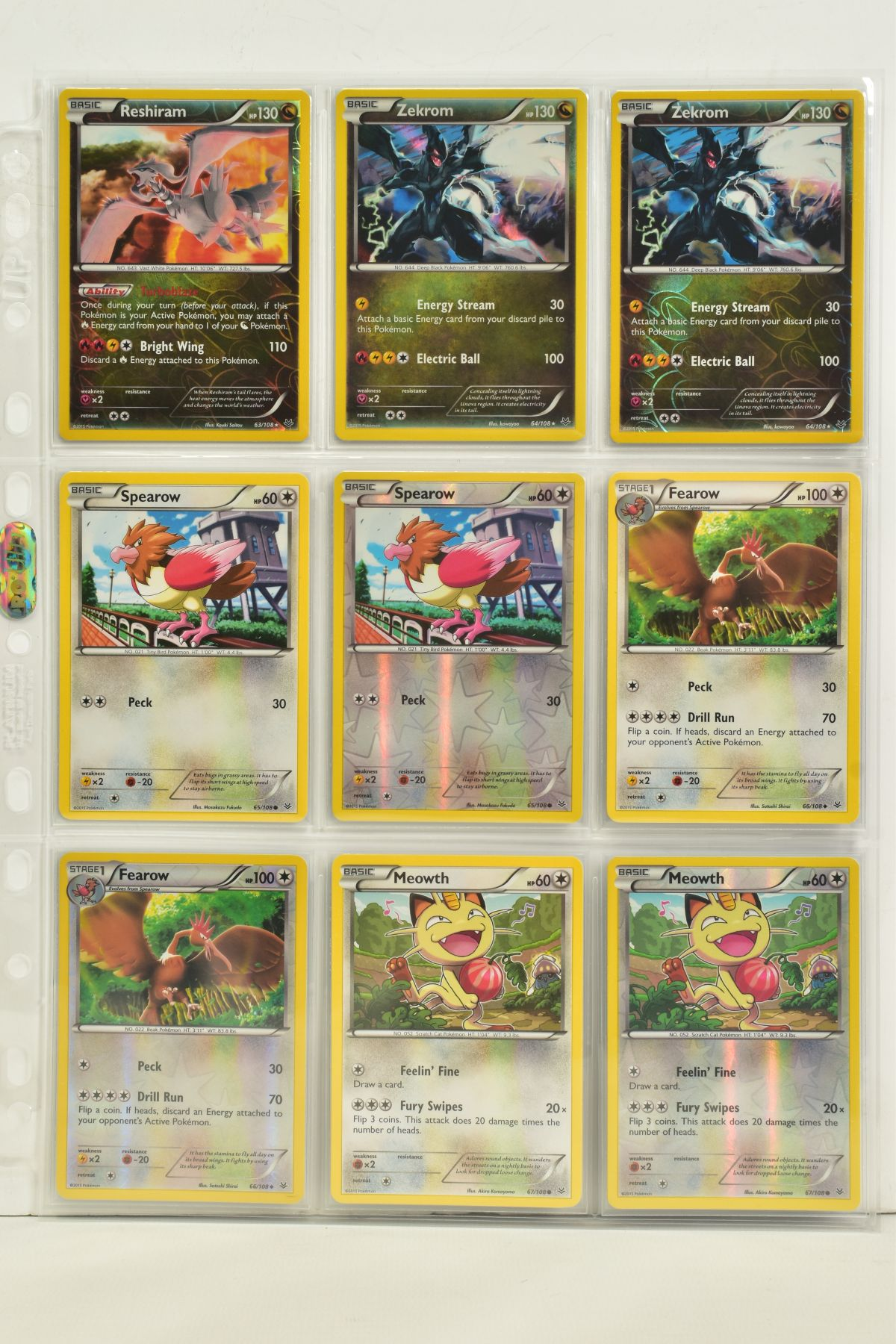 A COLLECTION OF ASSORTED POKEMON CARDS, to include complete master sets of XY Breakpoint, XY Roaring - Image 78 of 108