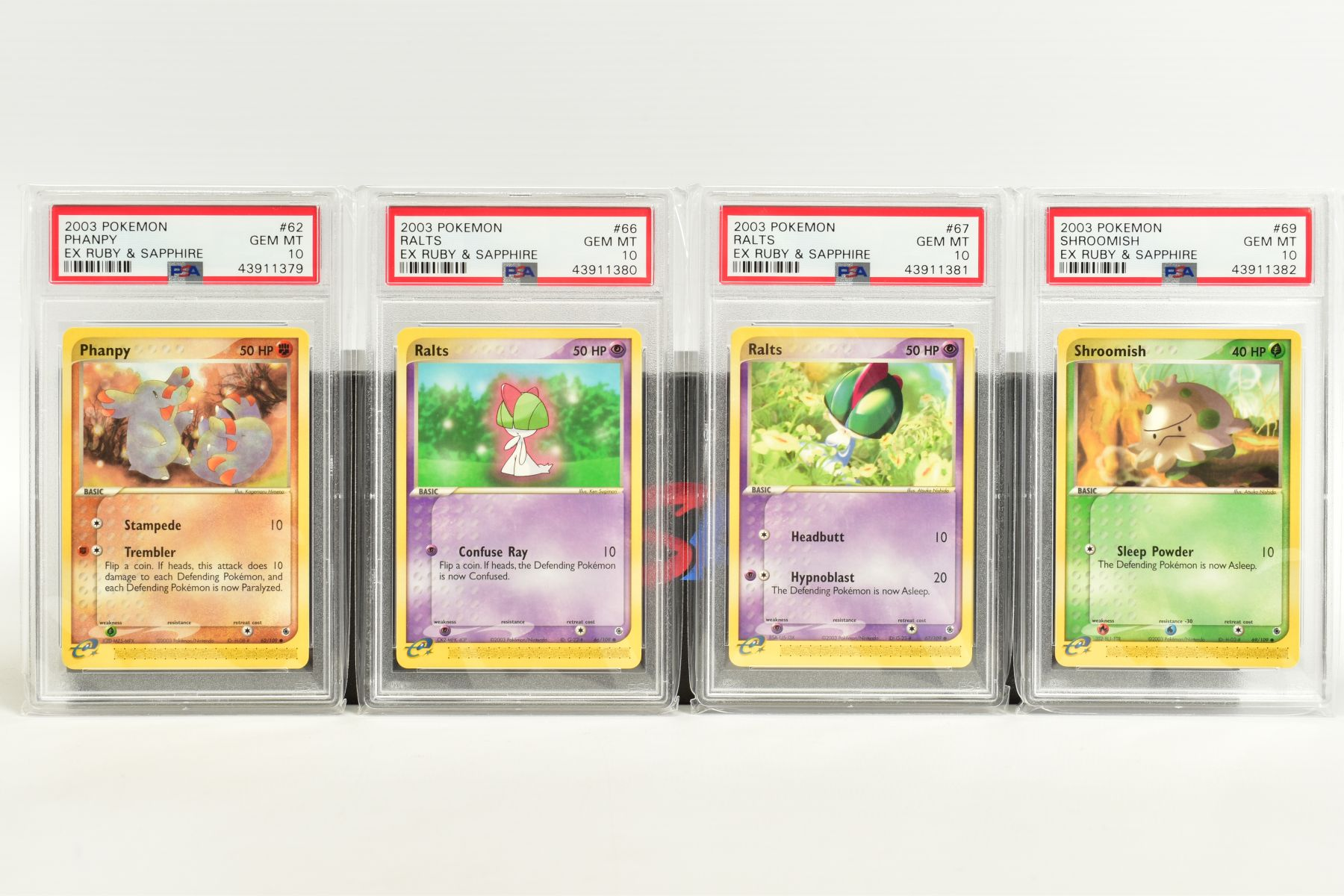 A QUANTITY OF PSA GRADED POKEMON EX TEAM ROCKET RETURNS AND EX RUBY & SAPPHIRE SET CARDS, all are - Image 14 of 15