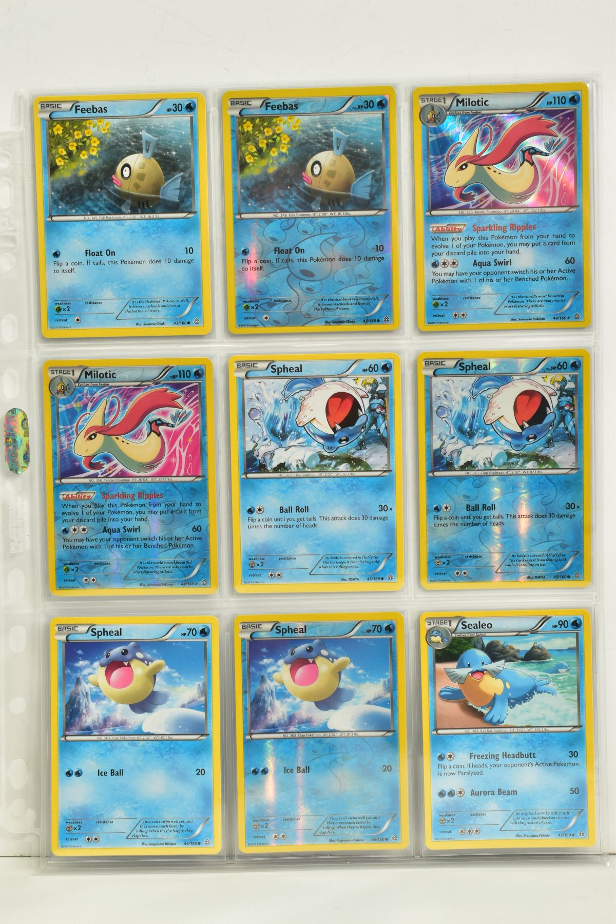 A COLLECTION OF ASSORTED POKEMON CARDS, to include complete master sets of XY Primal Clash, XY - Image 43 of 144