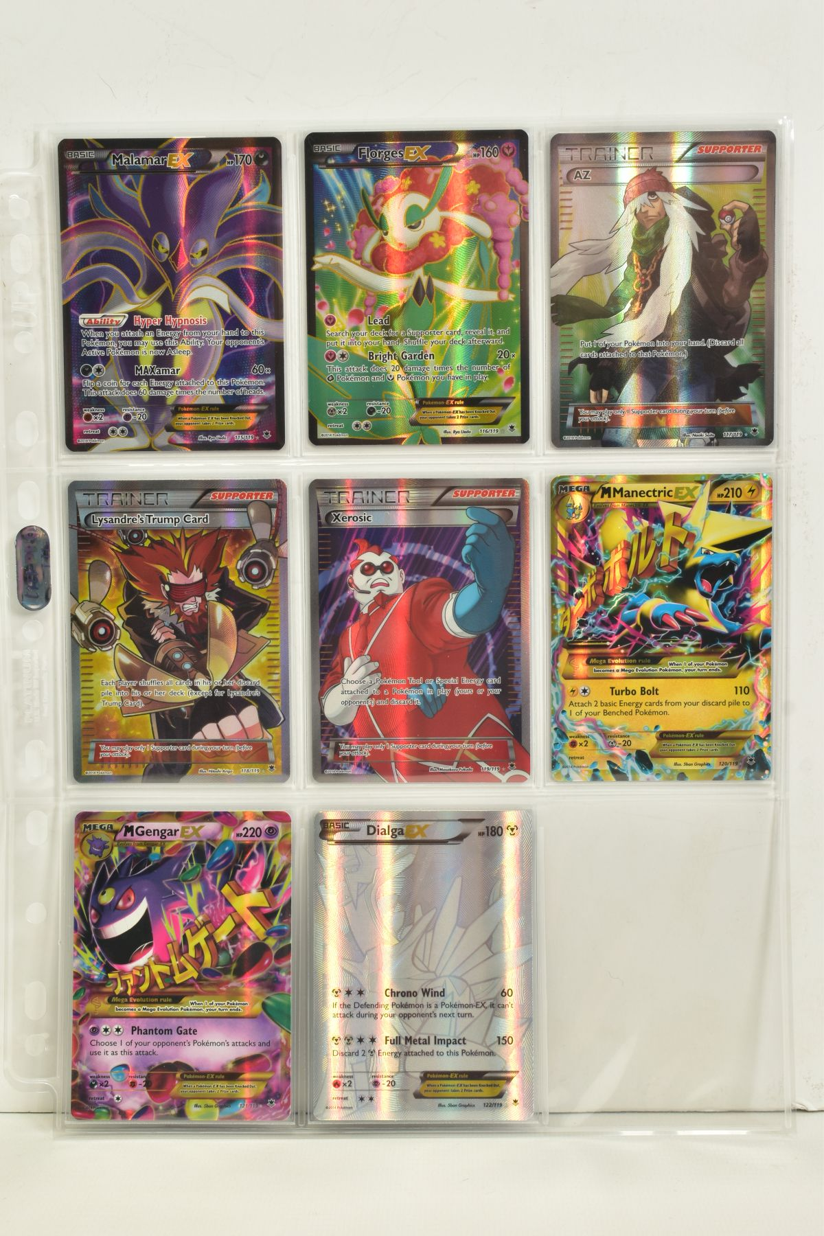 A COLLECTION OF ASSORTED POKEMON CARDS, to include complete master sets of XY Phantom Forces, XY - Image 76 of 101