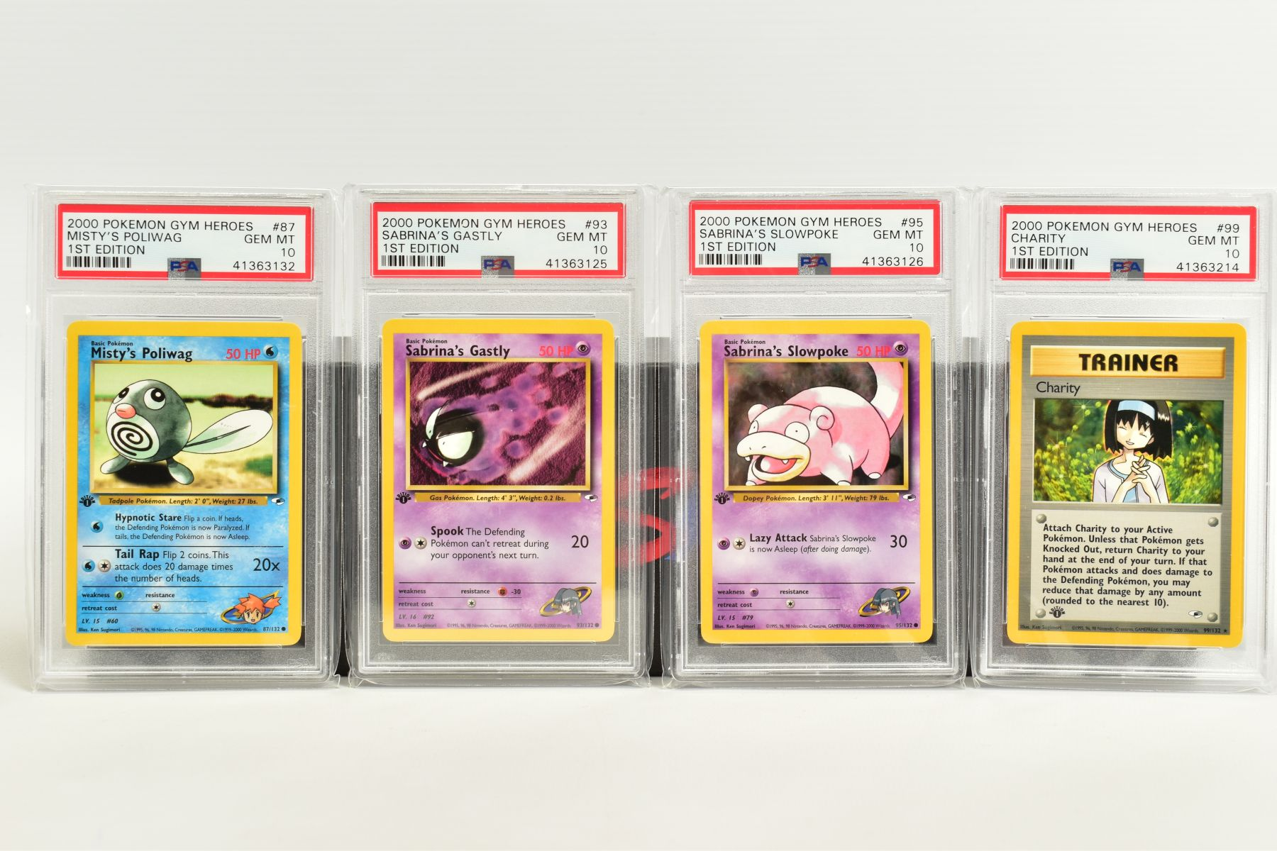 A QUANTITY OF PSA GRADED POKEMON 1ST EDITION GYM HEROES AND GYM CHALLENGE SET CARDS, all are - Image 10 of 12