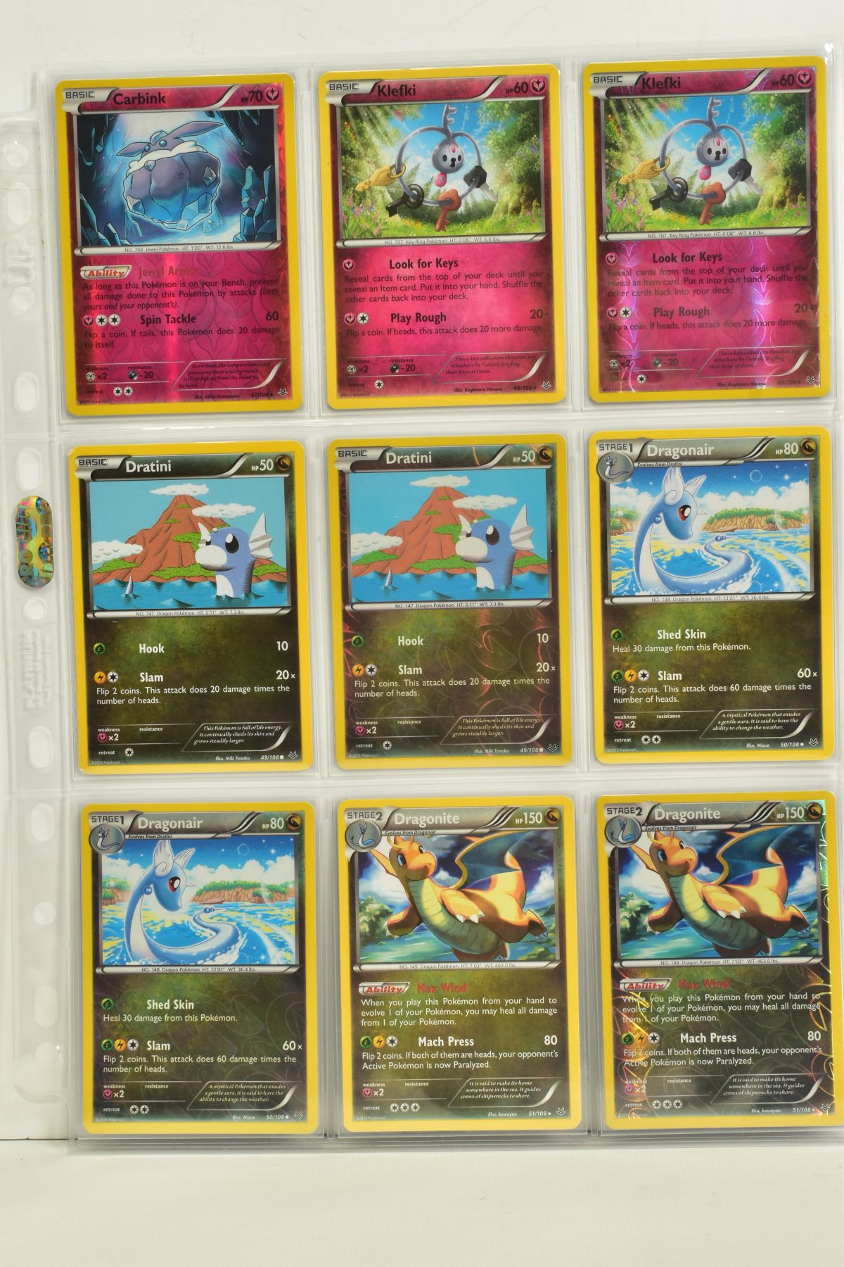 A COLLECTION OF ASSORTED POKEMON CARDS, to include complete master sets of XY Breakpoint, XY Roaring - Image 75 of 108