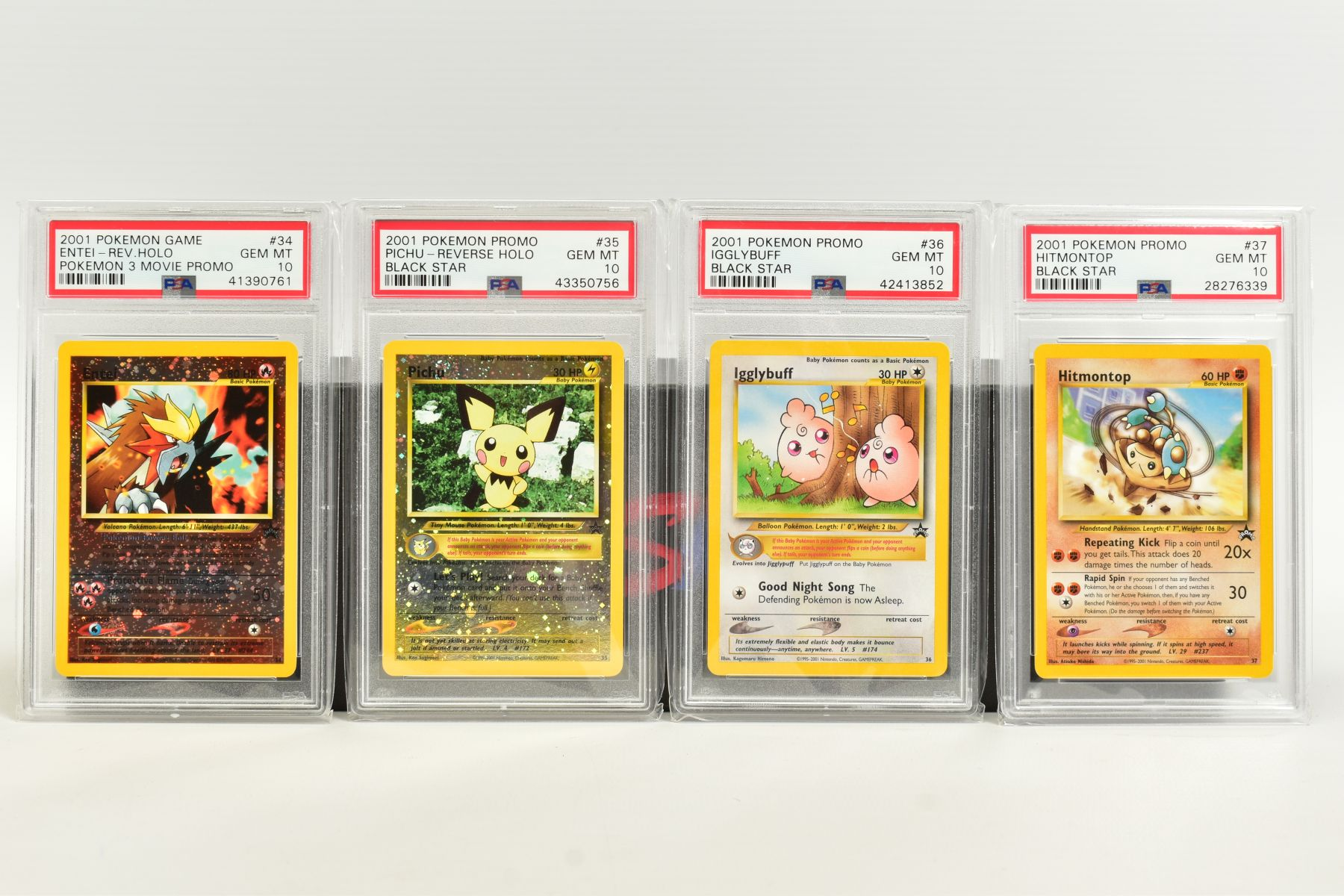 A QUANTITY OF PSA GRADED WIZARDS OF THE COAST POKEMON BLACK STAR PROMO CARDS, all date from 2000 - Image 2 of 8
