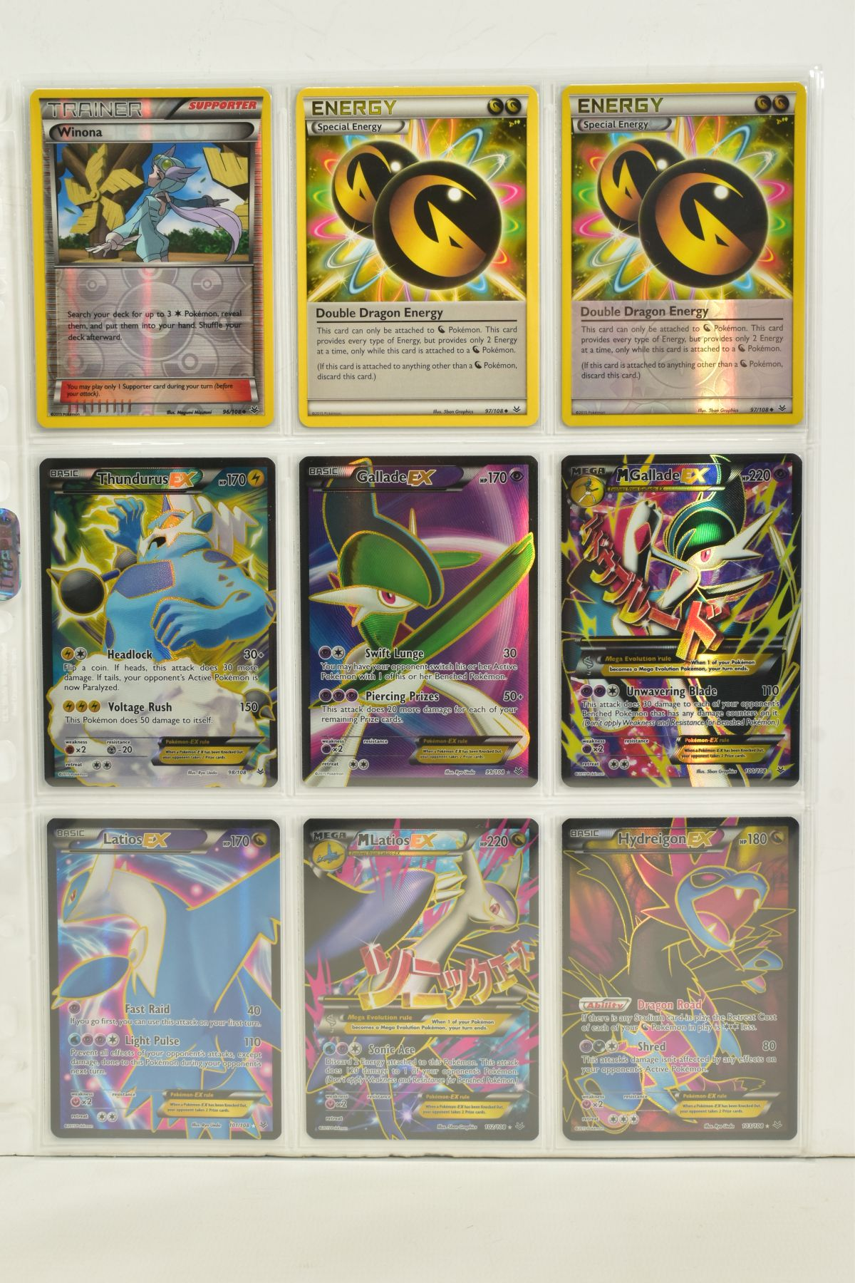 A COLLECTION OF ASSORTED POKEMON CARDS, to include complete master sets of XY Breakpoint, XY Roaring - Image 85 of 108