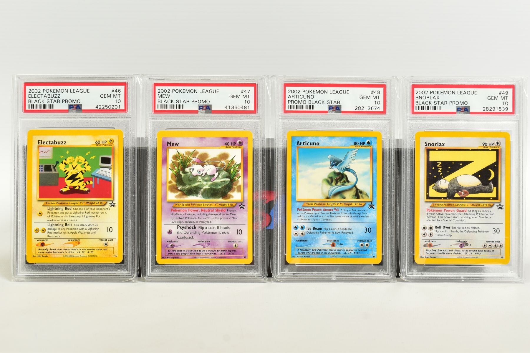 A QUANTITY OF PSA GRADED WIZARDS OF THE COAST POKEMON BLACK STAR PROMO CARDS, all date from 2000 - Image 5 of 8